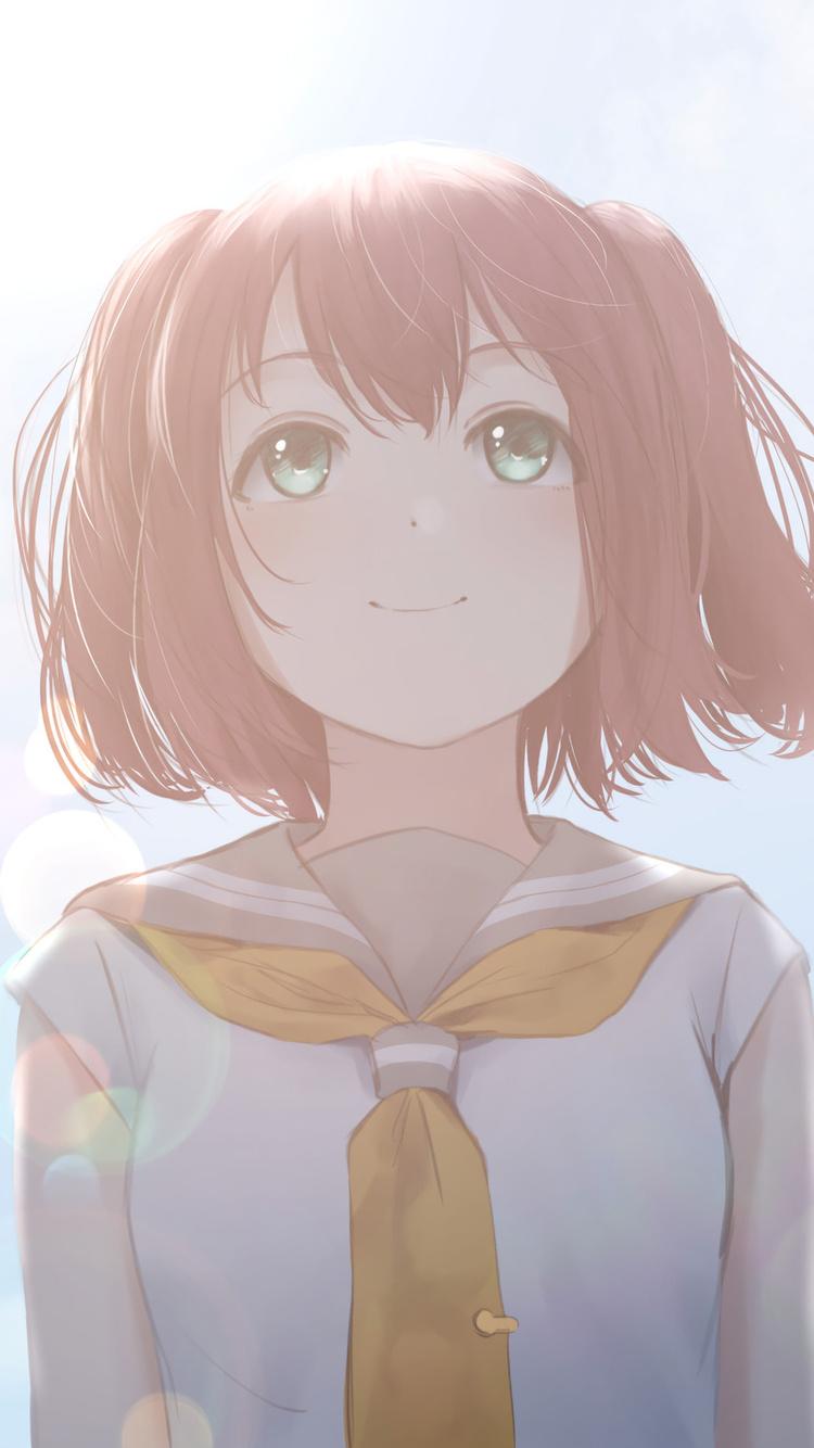 750x1334 Love Live Sunshine Anime Girl