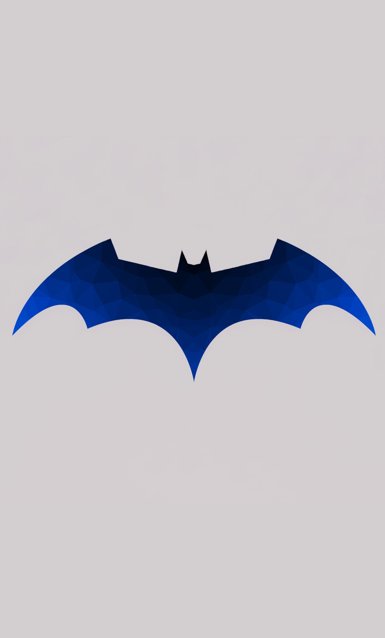 1280x2120 Low Polygon Batman Logo Iphone 6 Hd 4k Wallpapers