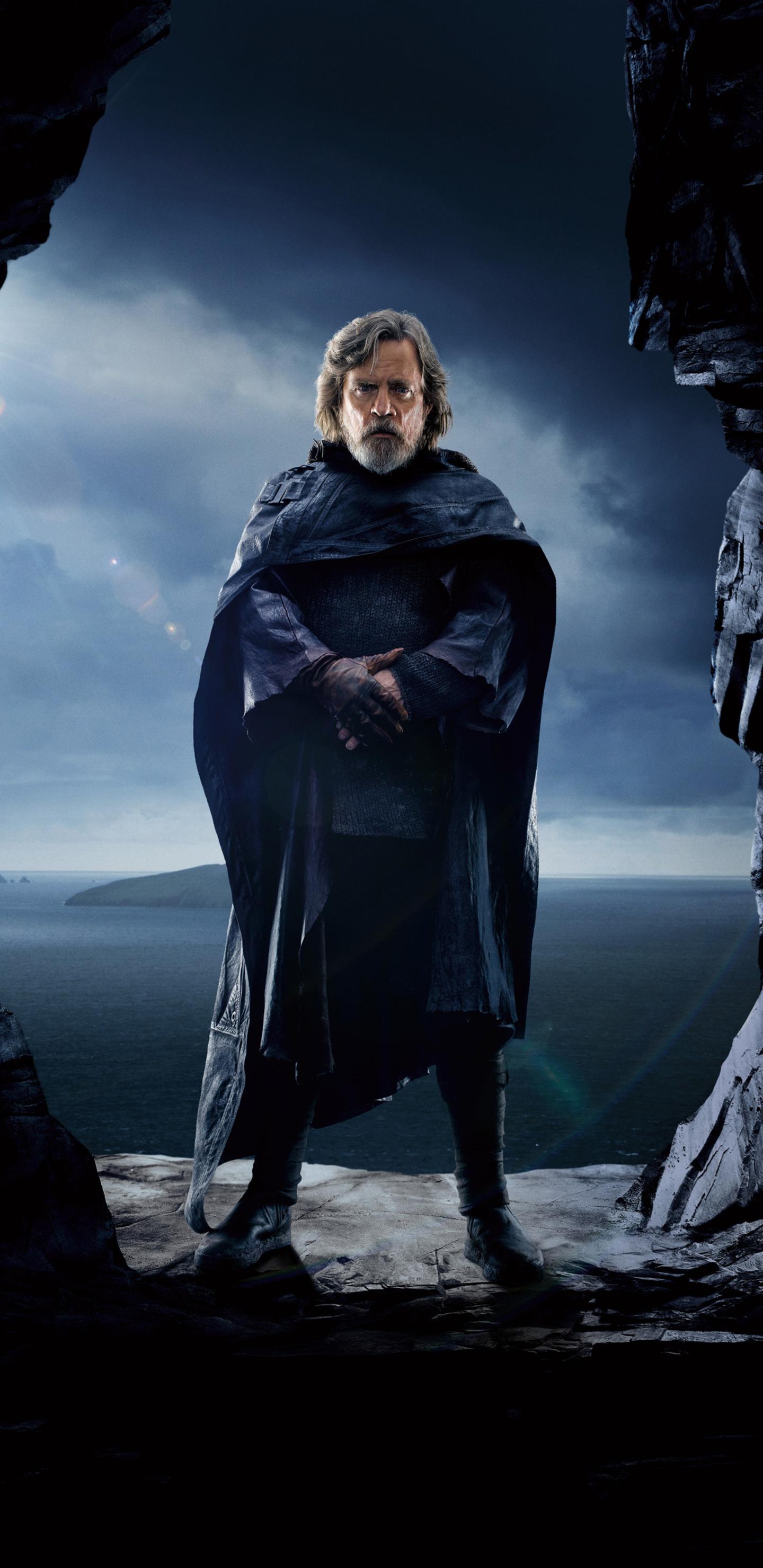 1440x2960 Luke Skywalker Star Wars The Last Jedi 5k 2017 ...