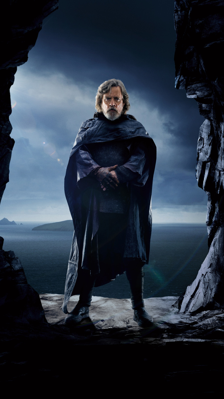 750x1334 Luke Skywalker Star Wars The Last Jedi 5k 2017 Iphone 6