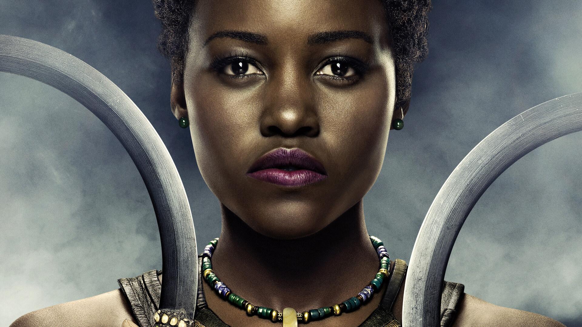 1920X1080 Lupita Nyongo In Black Panther Poster 5K Laptop -4312