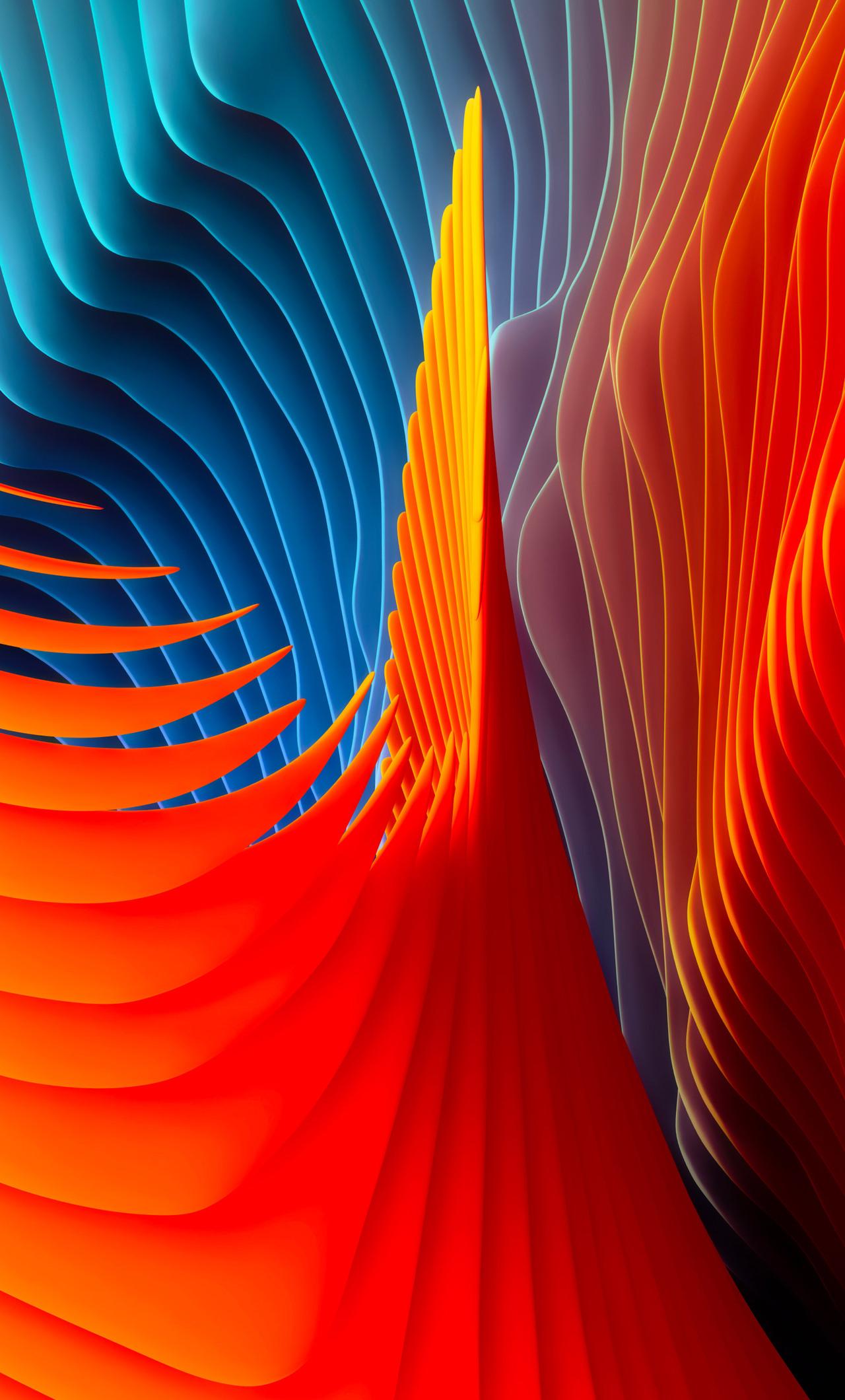 1280x2120 mac os sierra abstract shapes iphone 6 hd 4k