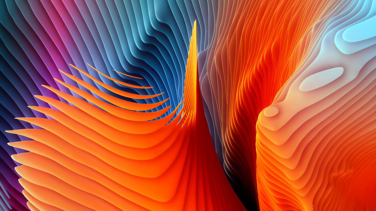 Mac Os Sierra Abstract Shapes On