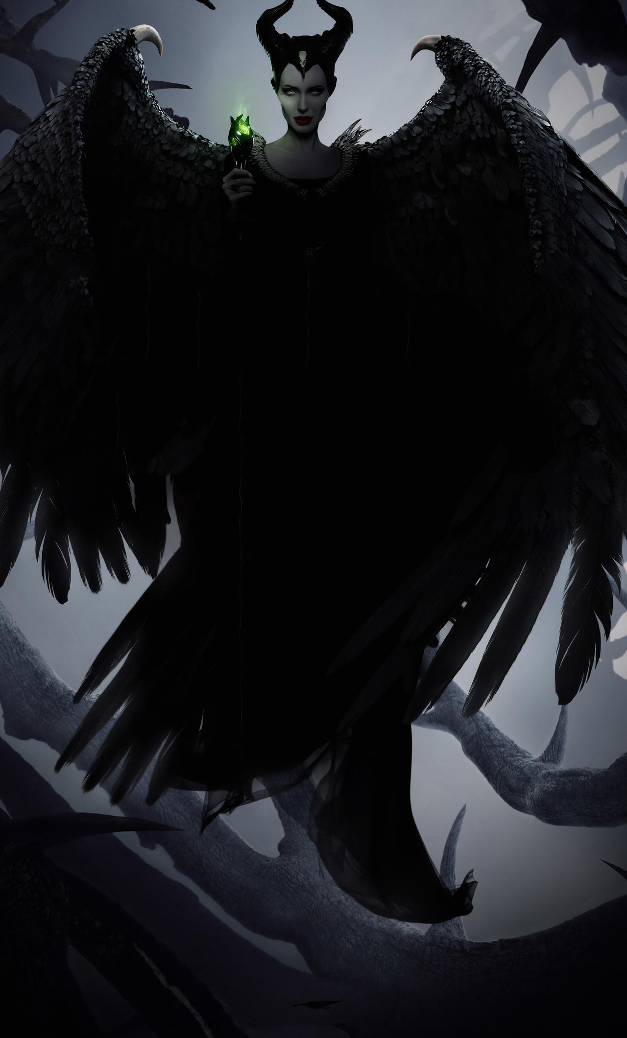 1280x2120 Maleficent Mistress Of Evil 2019 Imax Iphone 6 Hd