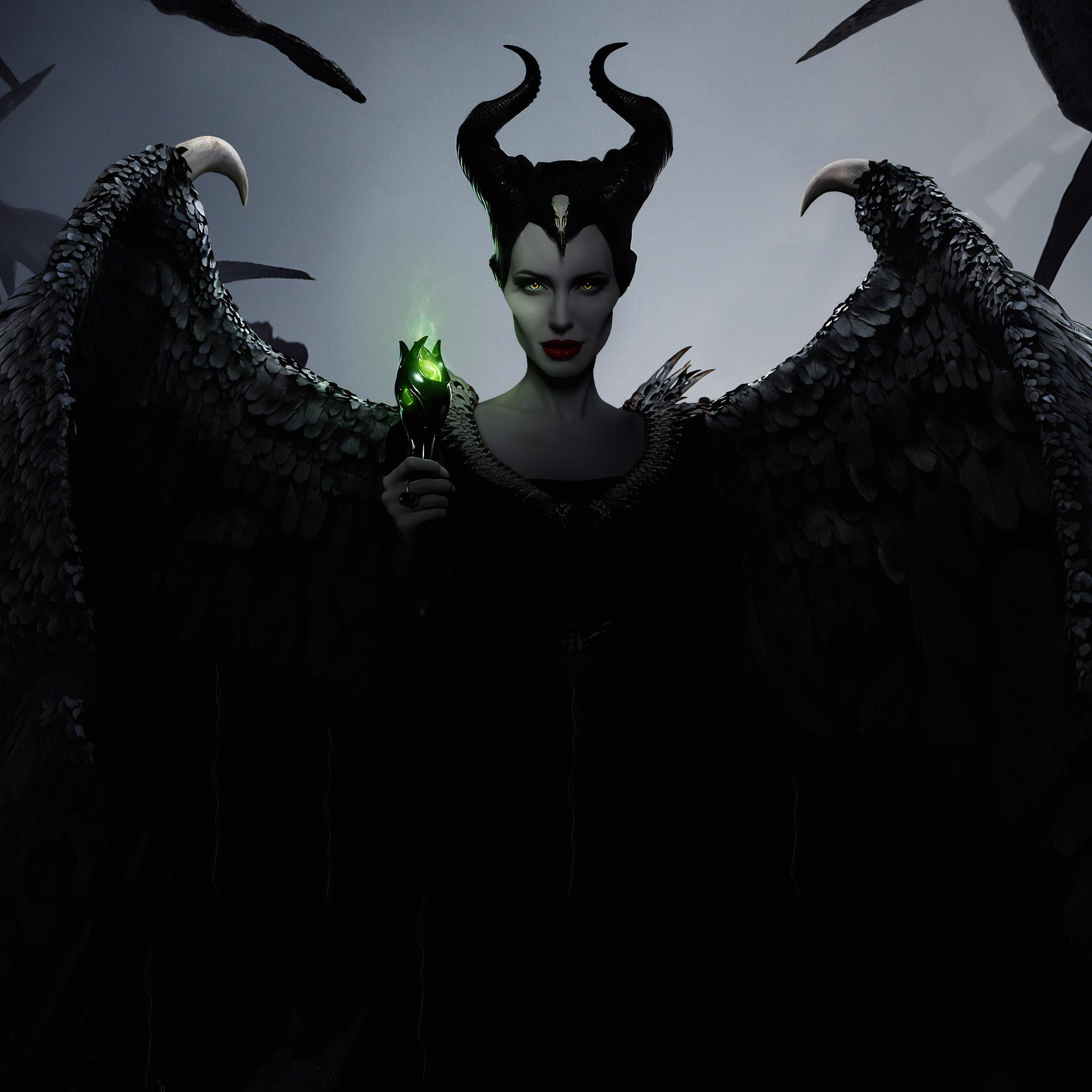 2048x2048 Maleficent Mistress Of Evil 2019 Imax Ipad Air Hd