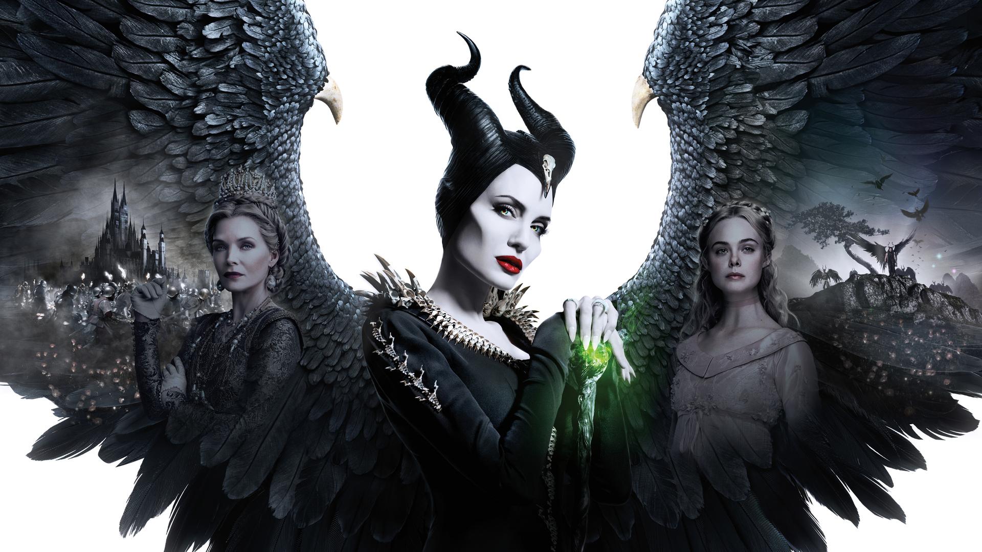 1920x1080 Maleficent Mistress Of Evil 5k 2019 Poster Laptop