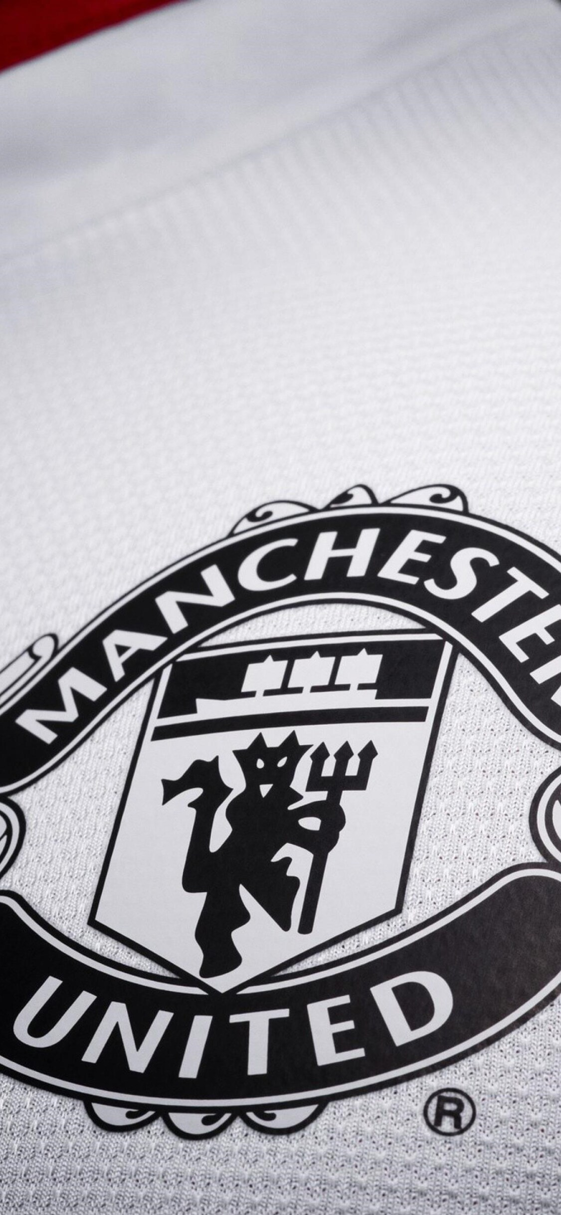 1125x2436 Manchester United Logo Hd Iphone Xsiphone 10