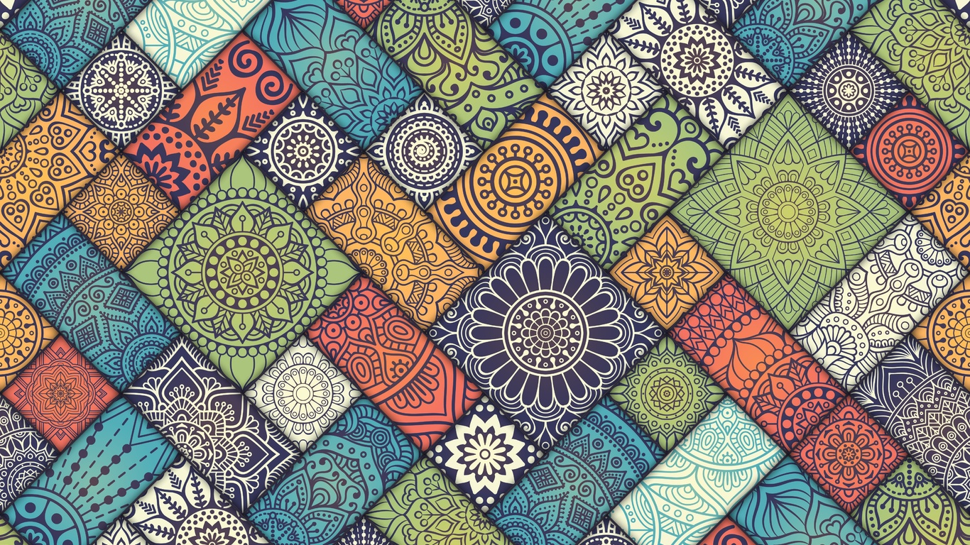 1366x768 mandala pattern abstract 5k 1366x768 resolution - Hd pattern wallpapers 1080p ...