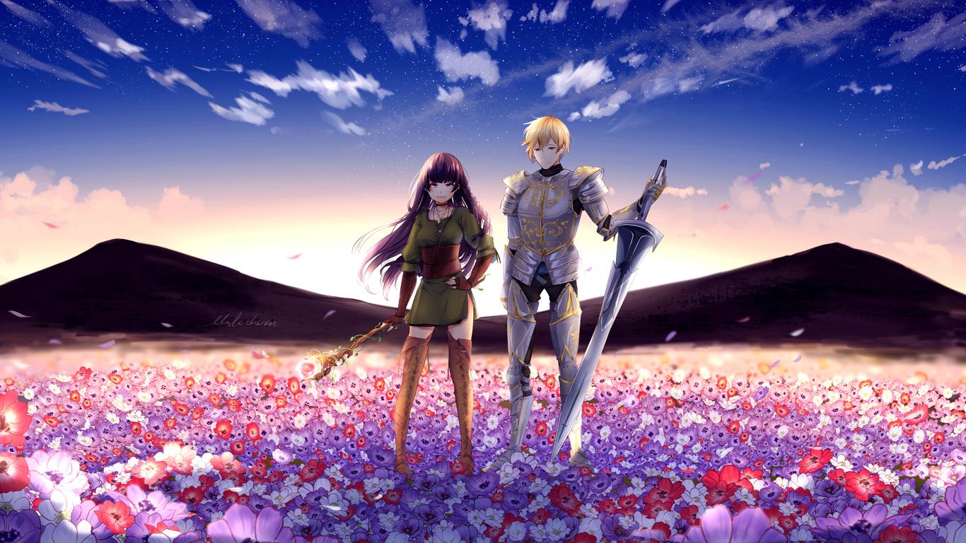 Wallpaper 1366x768 full hd anime - Anime full hd download ...