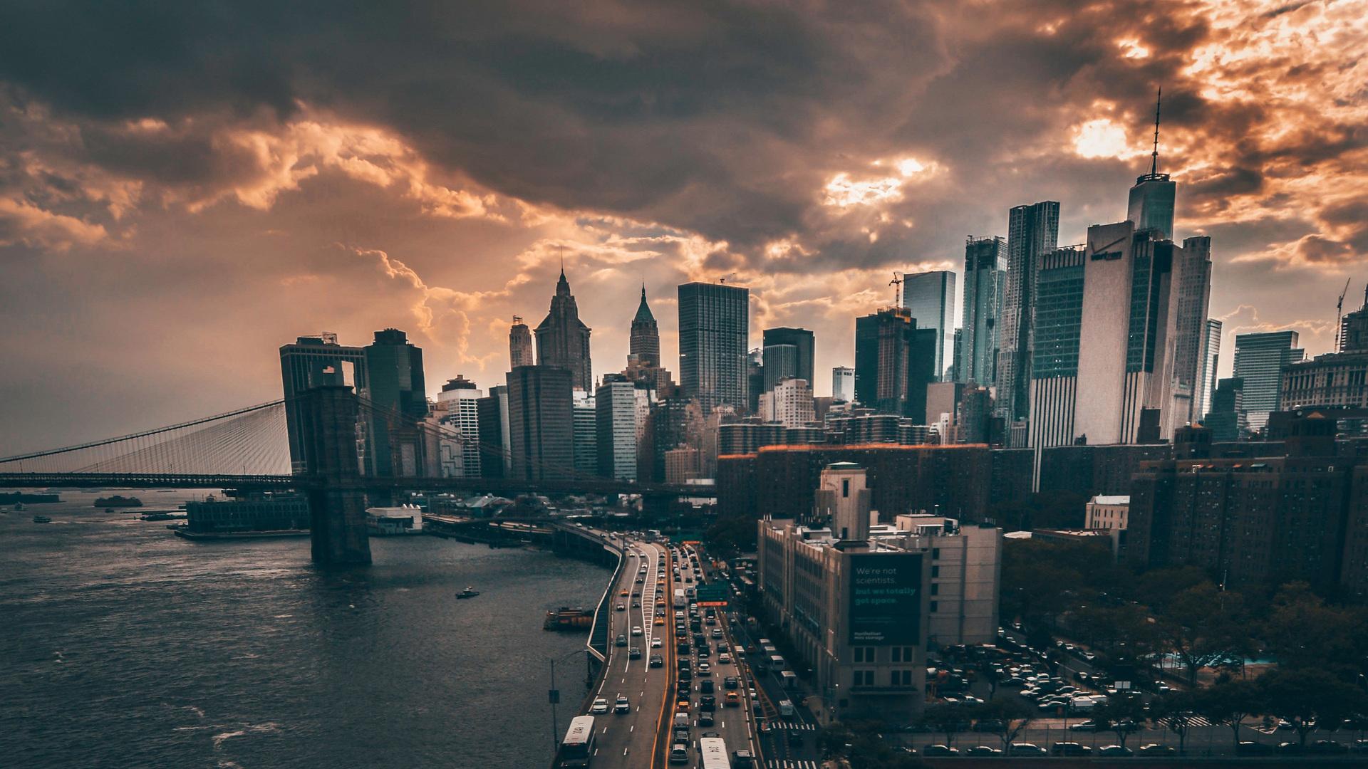 1920x1080 manhattan new york city 4k laptop full hd 1080p hd 4k wallpapers images backgrounds - Wallpaper 1080p new york ...