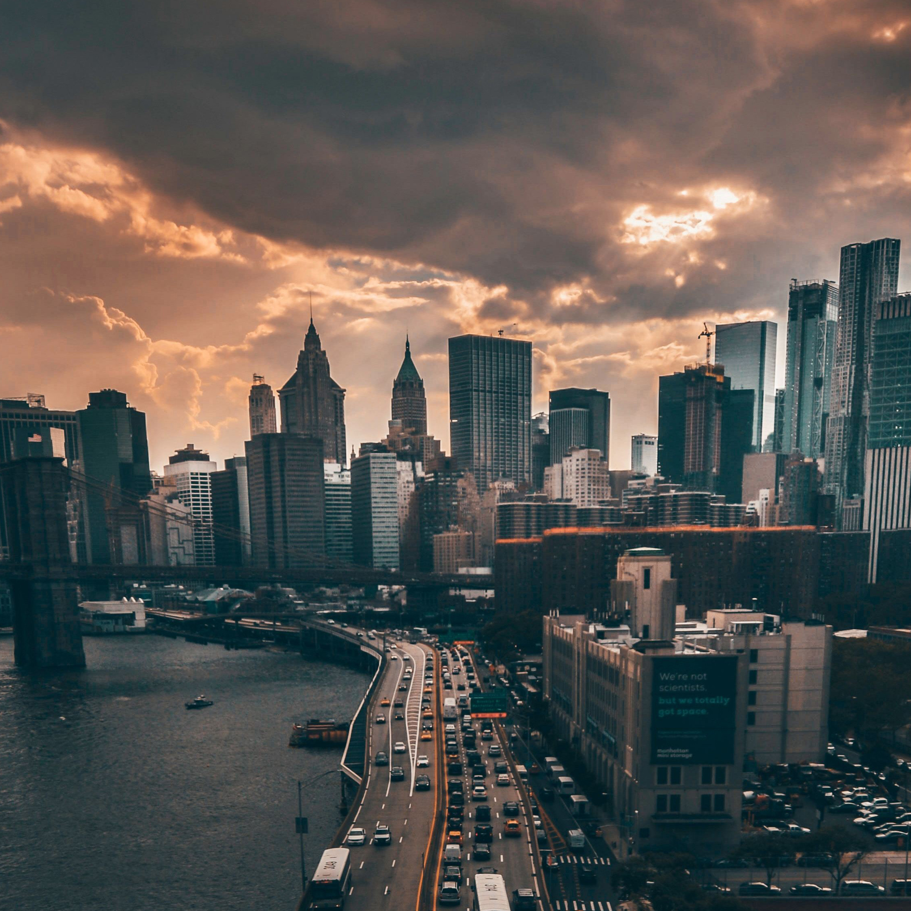 2932x2932 Manhattan New York City 4k ...