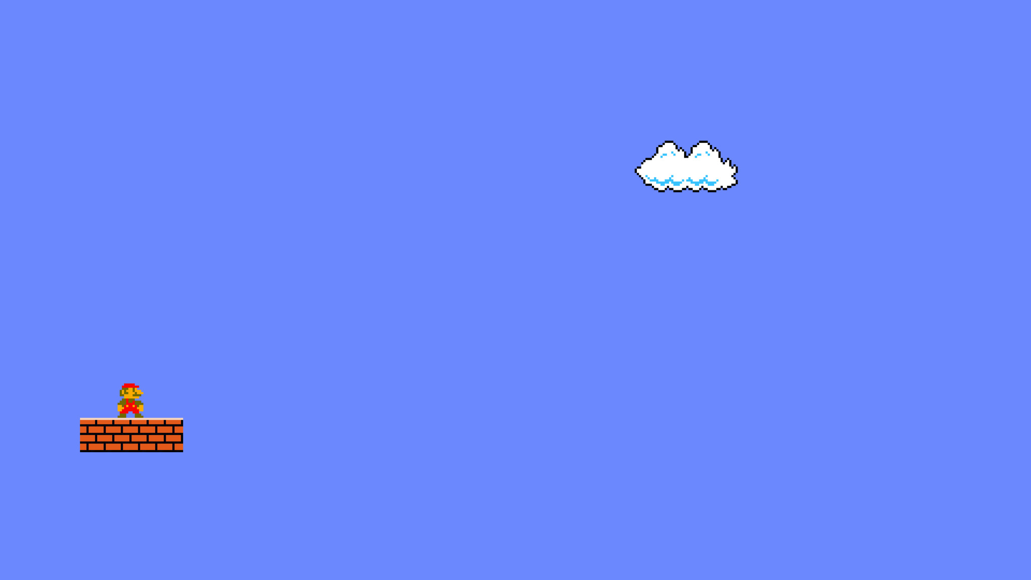 2048x1152 Mario Minimalism 2048x1152 Resolution HD 4k ...
