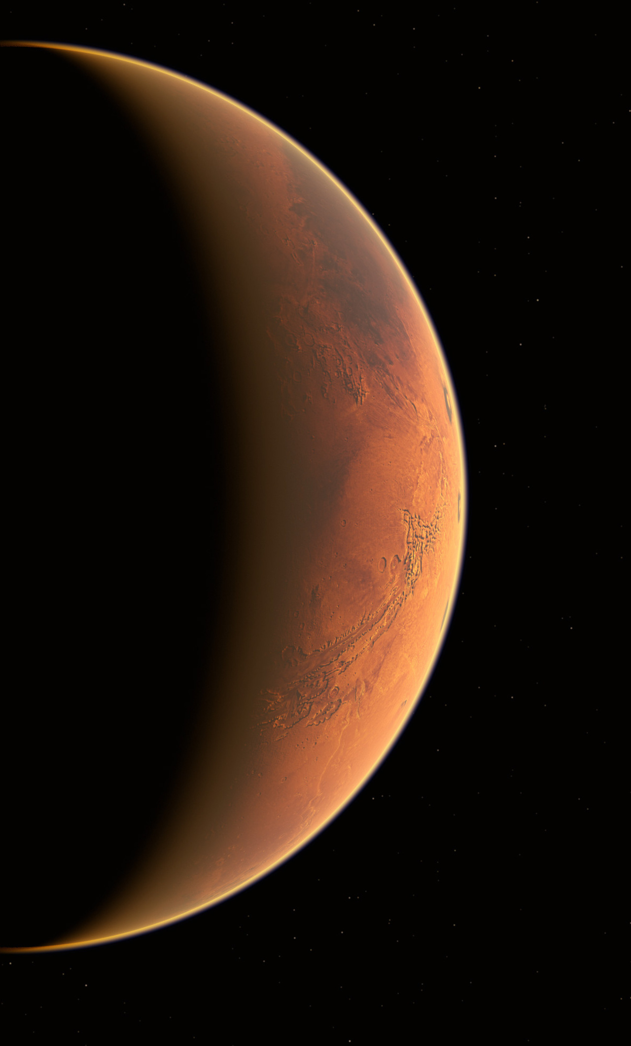 1280x2120 Mars Lightwave 4k iPhone 6+ HD 4k Wallpapers ...