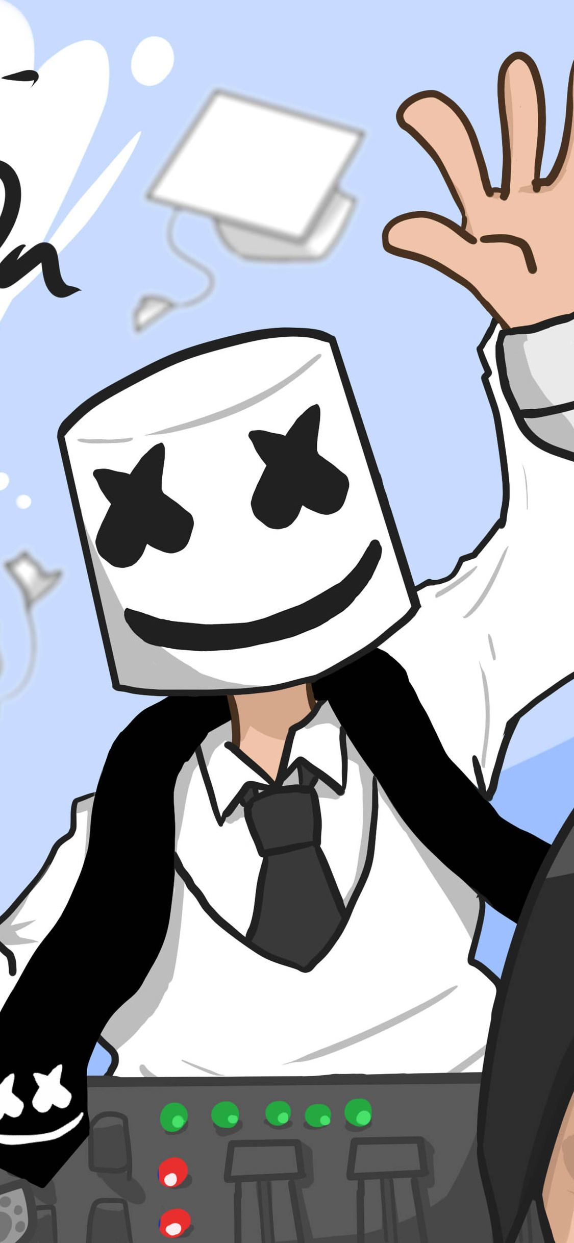 Marshmello Moving On Iphone Xsiphone Iphone X