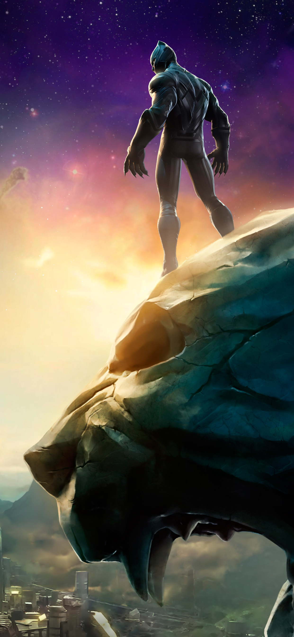 1242x2688 Marvel Black Panther Contest Of Champions Iphone Xs Max Hd 4k Wallpapers Images Backgrounds Photos And Pictures