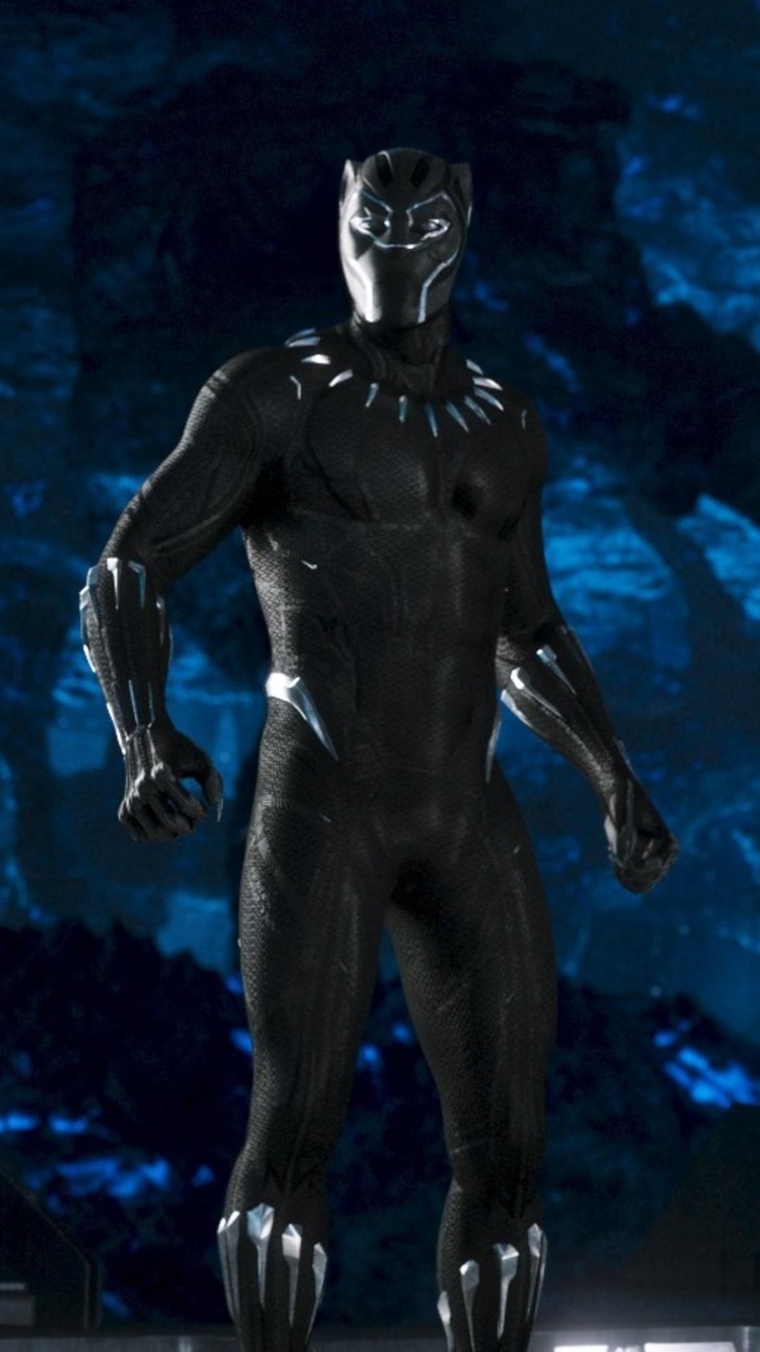 1080x1920 Marvel Black Panther Movie 2018 Iphone 7 6s 6 Plus Pixel