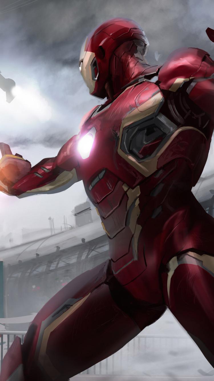 Marvel Civil War Artwork Qu
