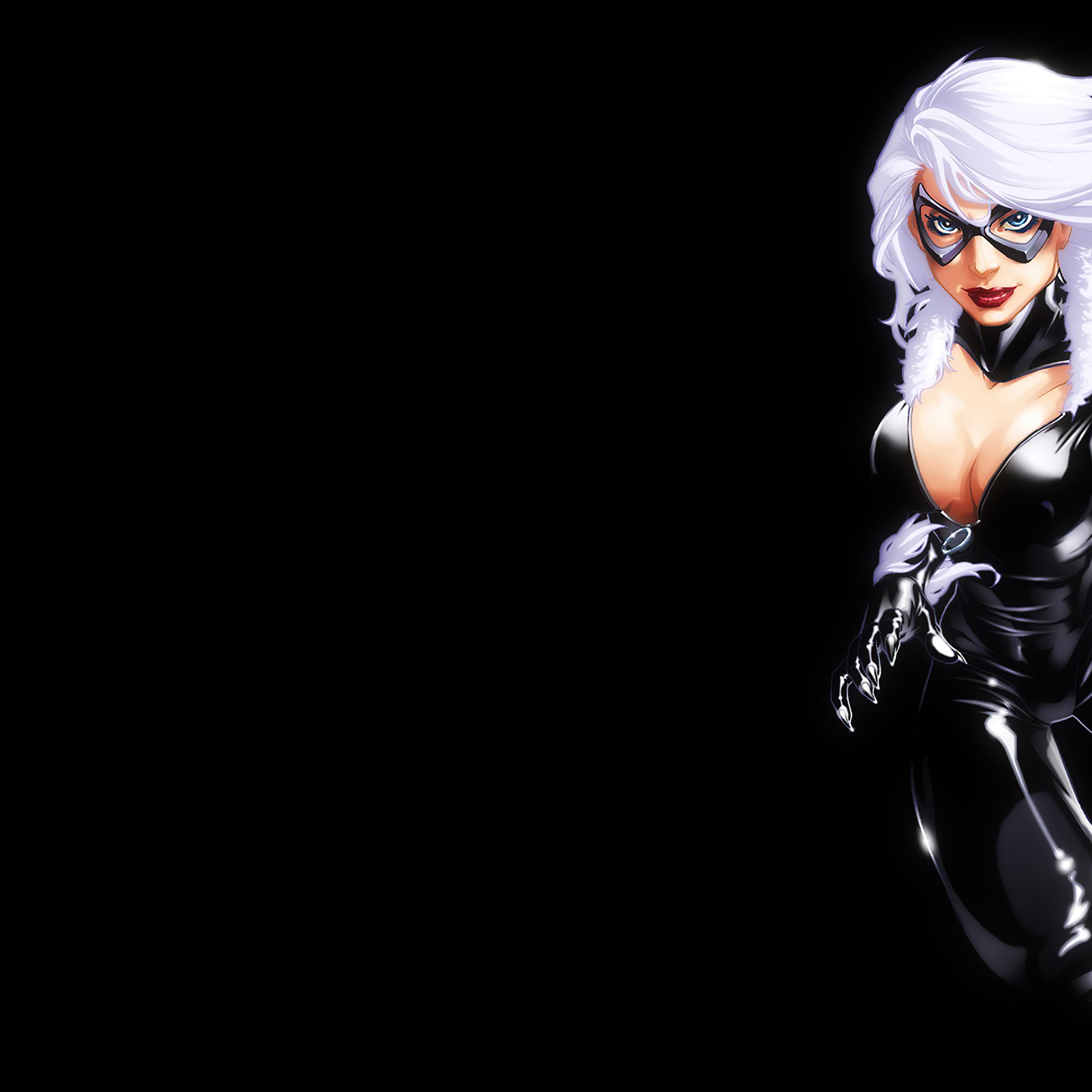 2932x2932 Marvel Girl Black Cat 4k Ipad Pro Retina Display Hd 4k Wallpapers Images Backgrounds Photos And Pictures