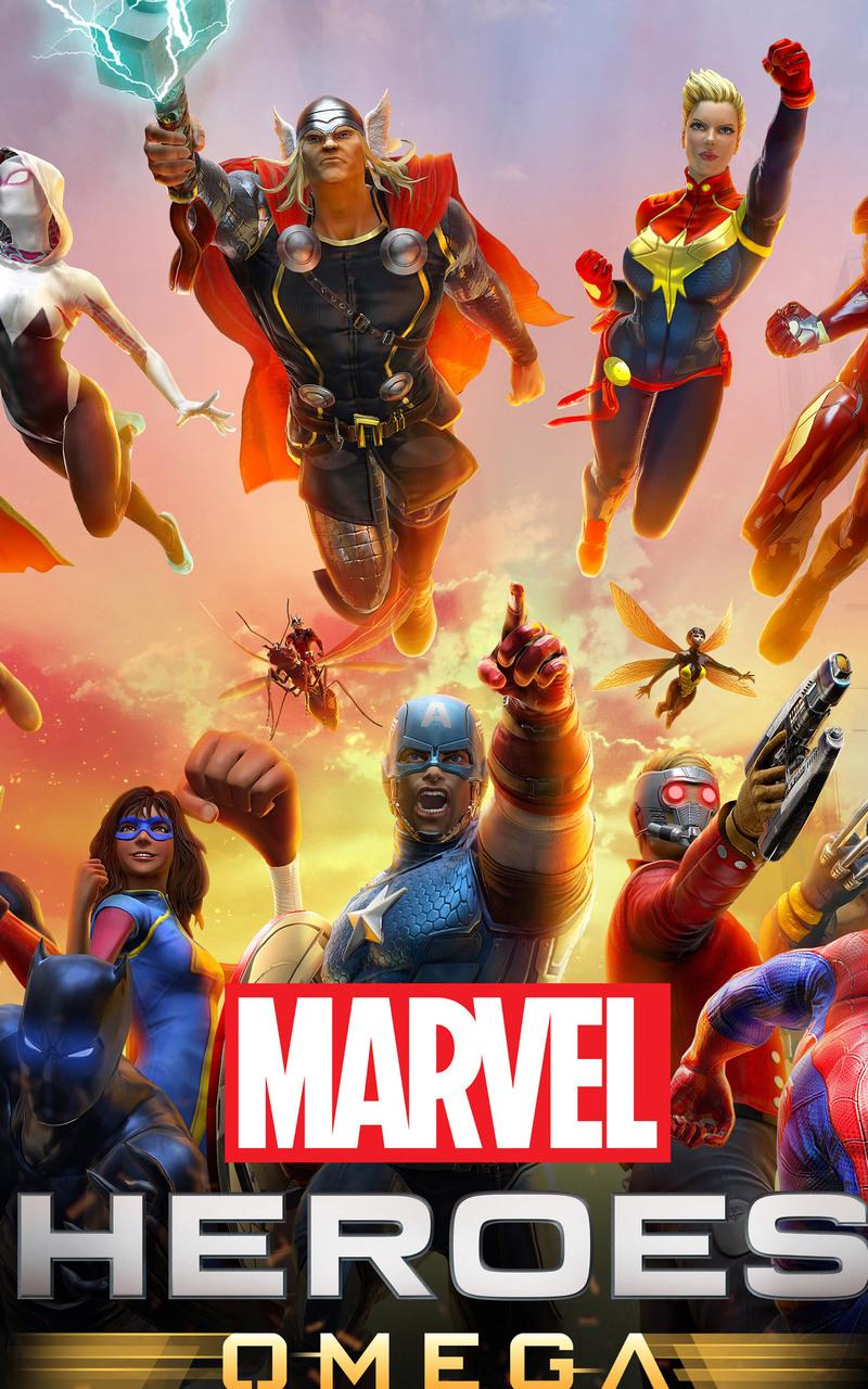 800x1280 Marvel Heroes Omega Nexus 7,Samsung Galaxy Tab 10