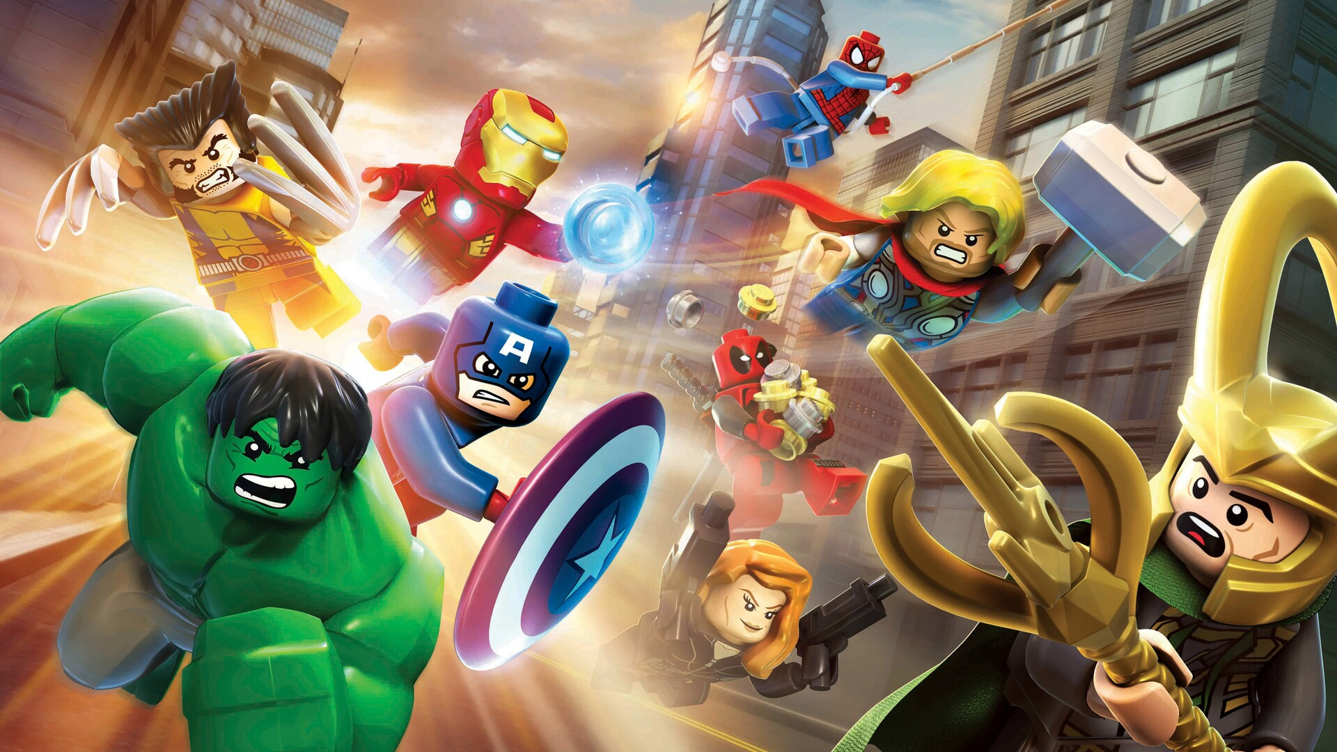 1920x1080 Marvel Lego Superheroes Laptop Full Hd 1080p Hd 4k