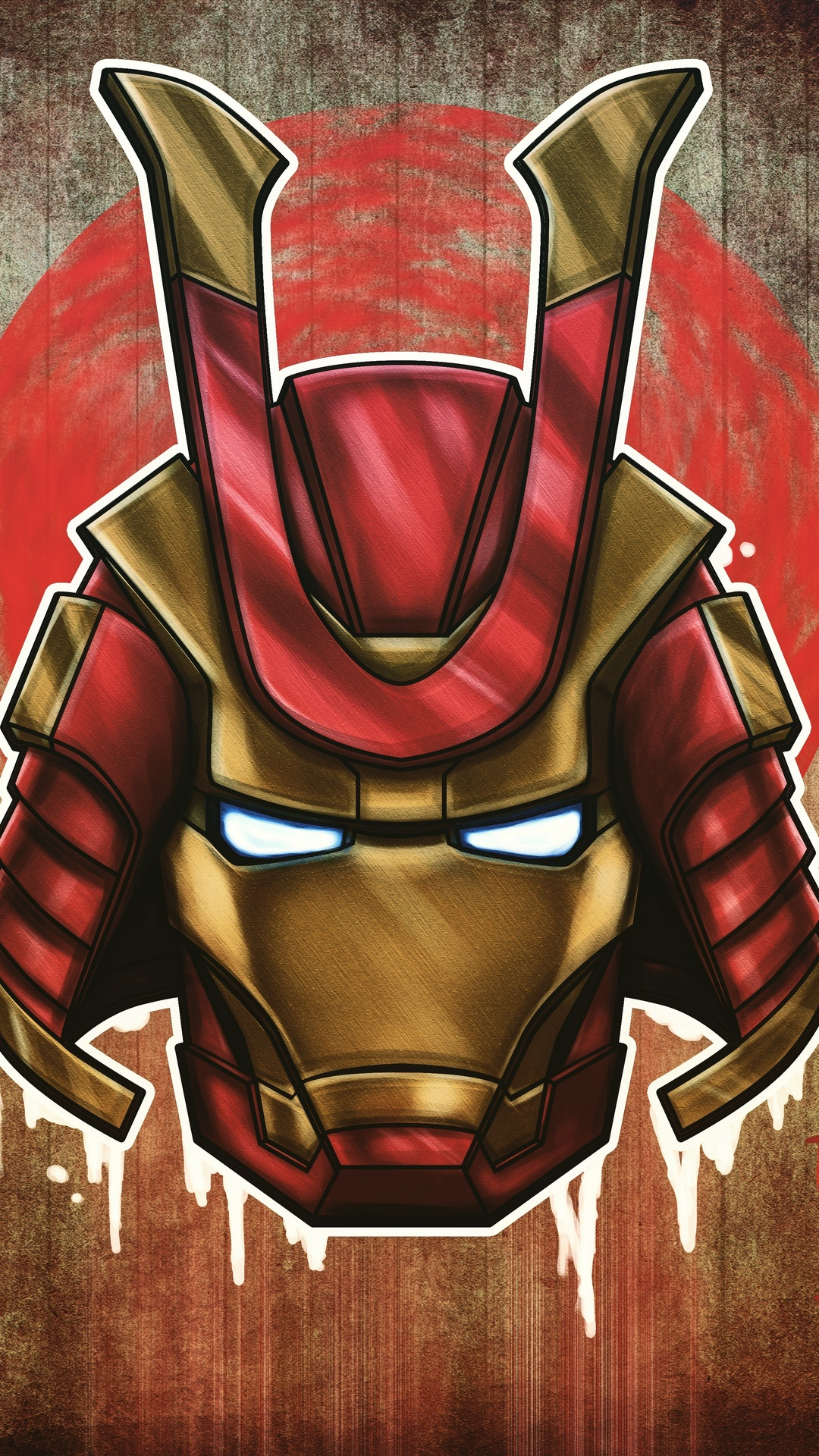 1080x1920 Marvel Samurai Iron Man Iphone 76s6 Plus Pixel Xl One