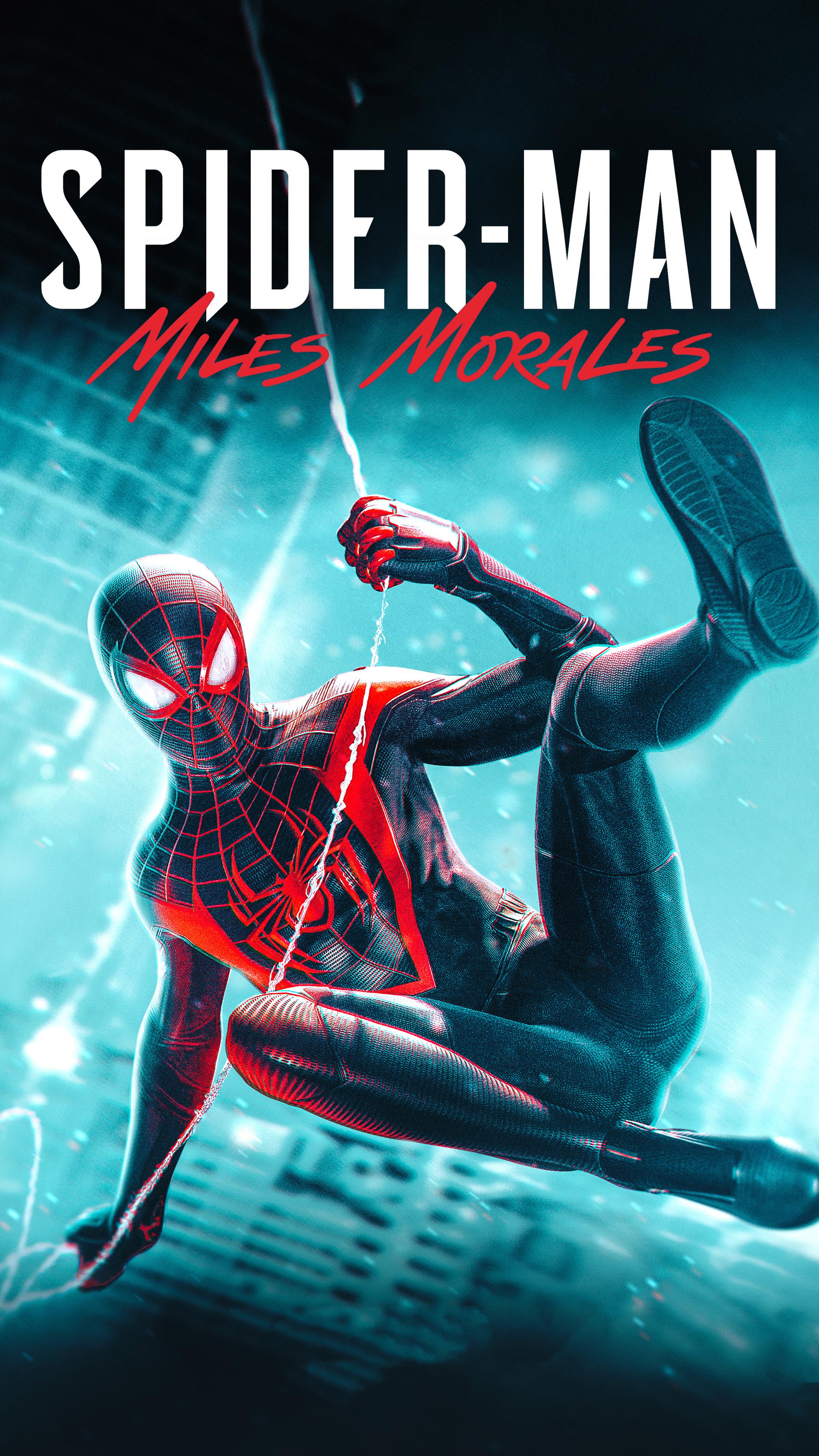 2160x3840 Marvel Spider Man Miles Morales 2020 Sony Xperia ...