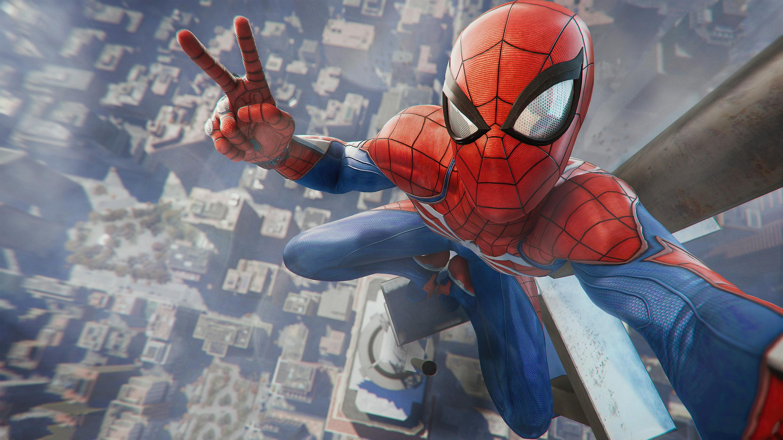 2560x1440 Marvel Spiderman 1440P Resolution HD 4k ...