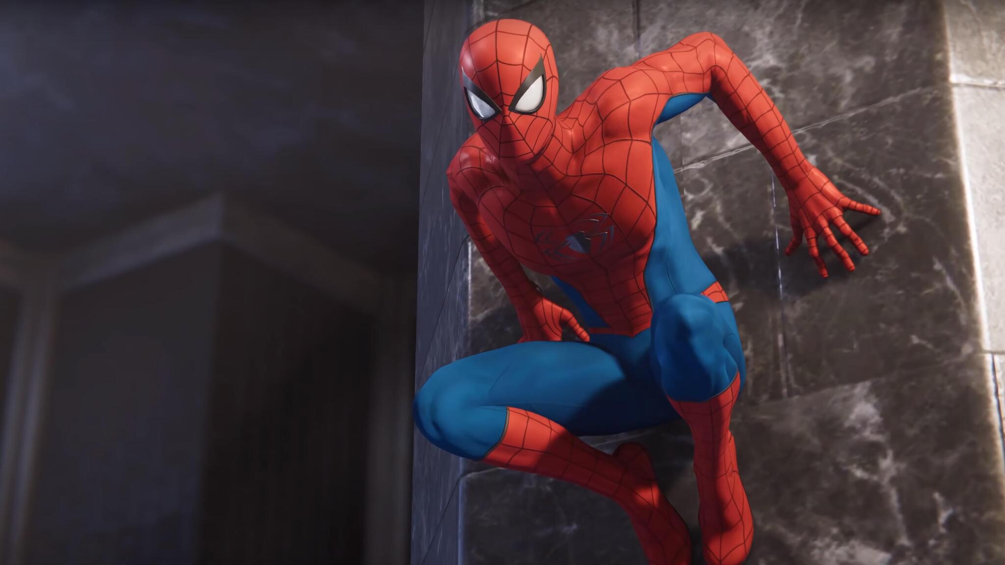 2048x1152 Marvel Spiderman Classic Suit Ps4 2048x1152 Resolution Hd