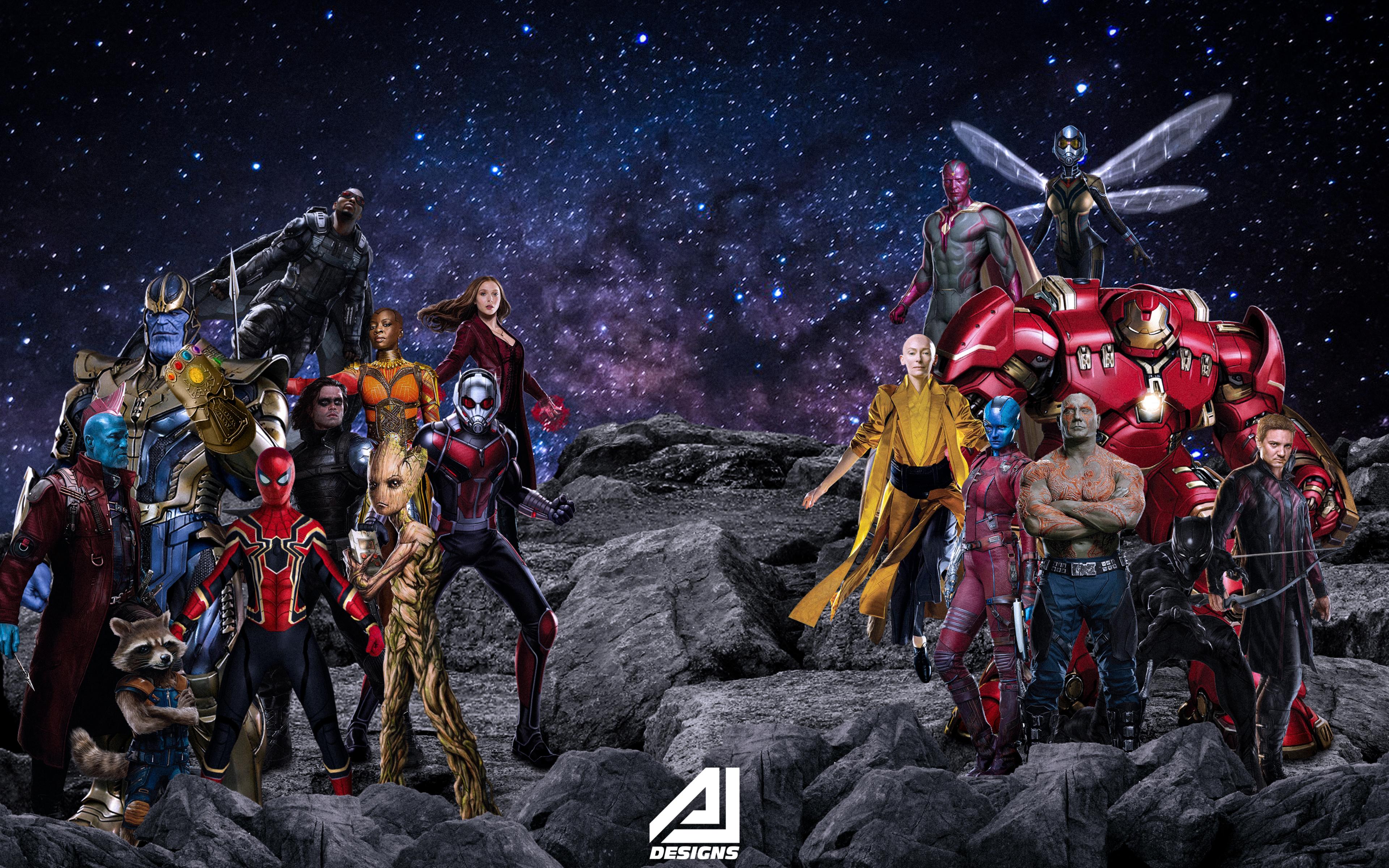 3840x2400 Marvel Studios Character Artwork 4k HD 4k ...