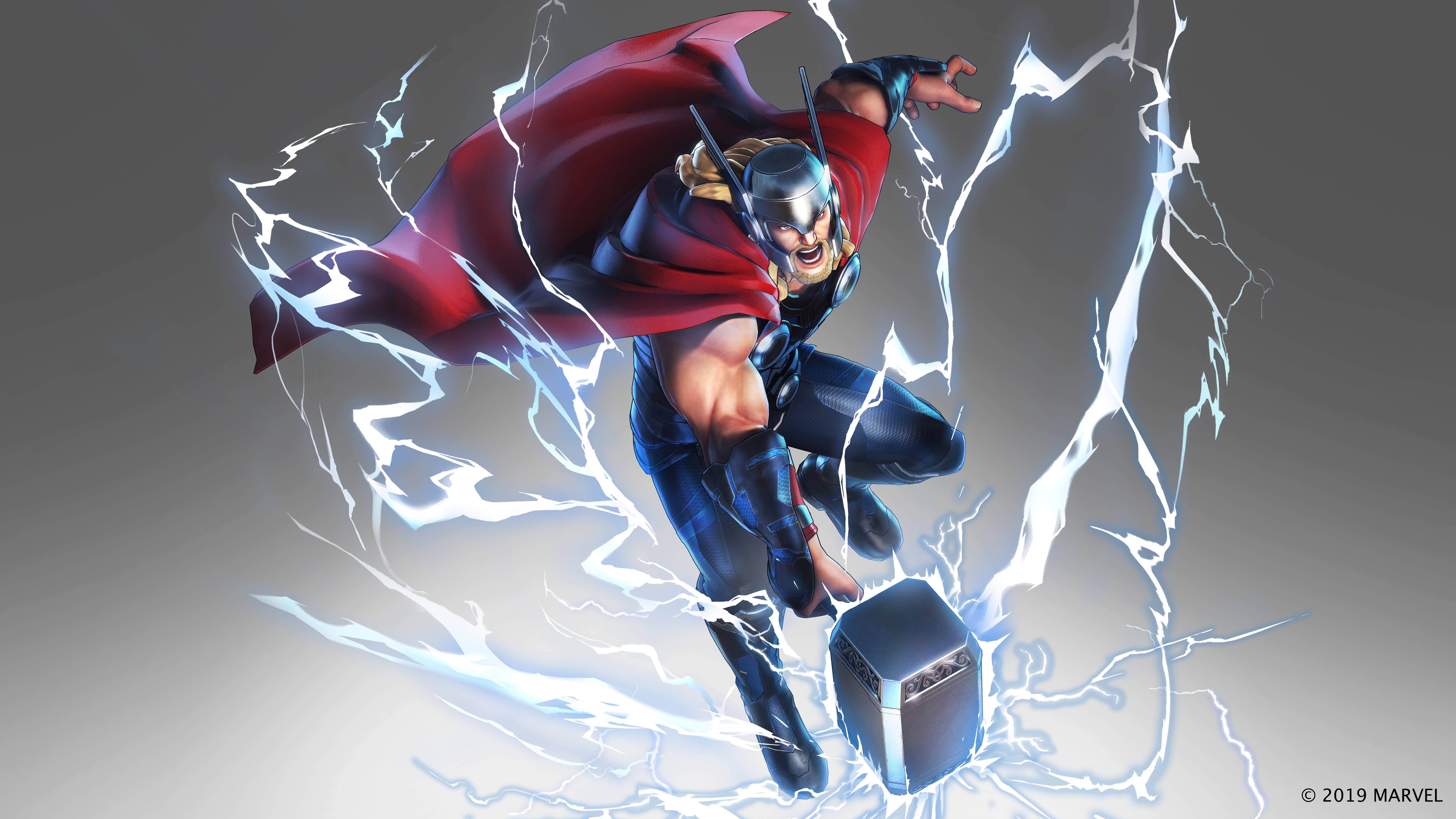 7680x4320 Marvel Ultimate Alliance 3 2019 Thor 8k HD 4k Wallpapers