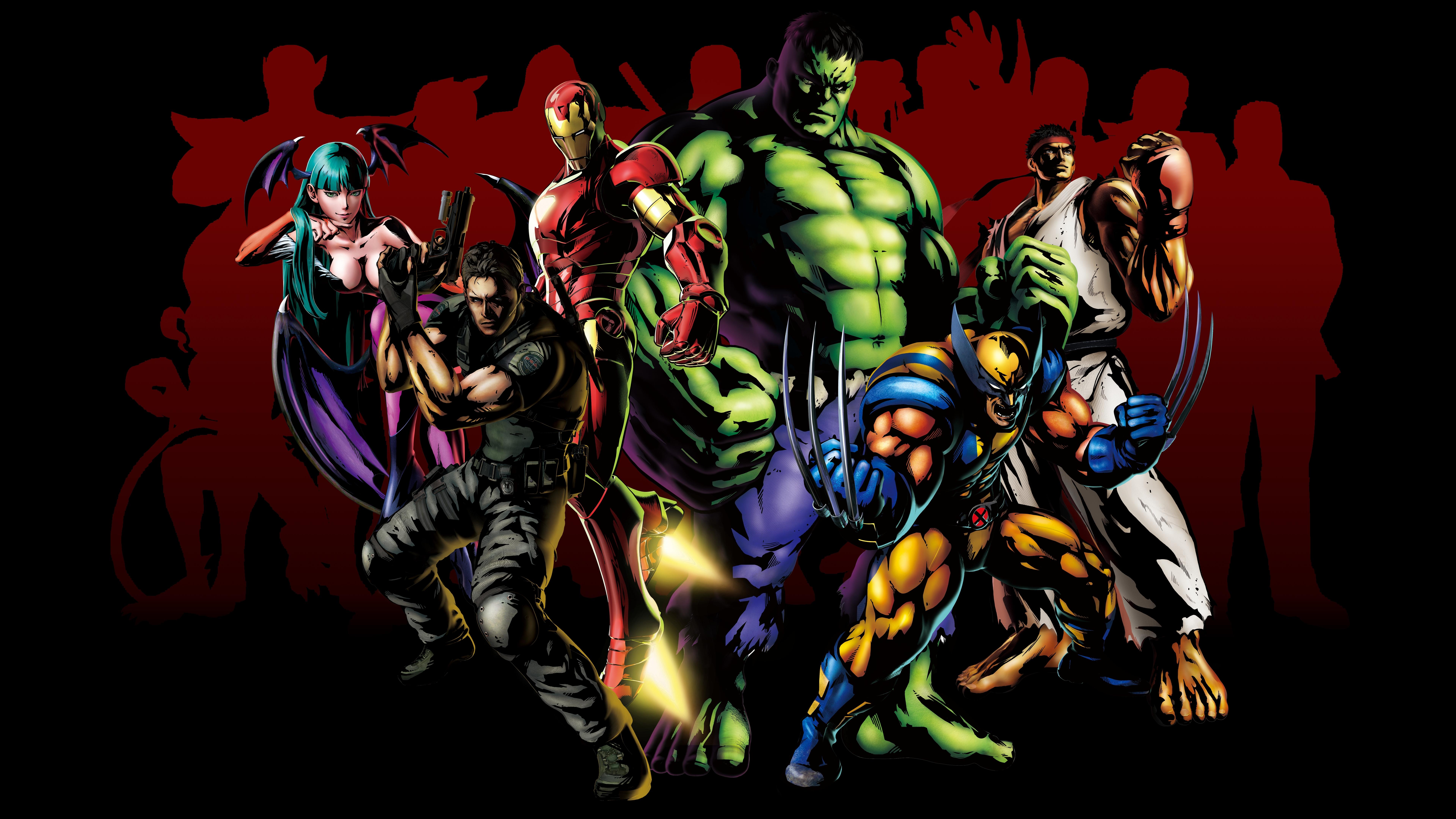 7680x4320 Marvel Vs Capcom 3 Fate Of Two Worlds 8k Hd 4k