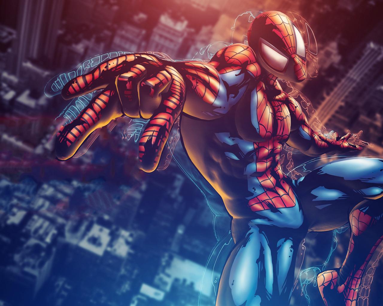 1280x1024 Marvel Vs Capcom 3 Spiderman 4k 1280x1024 Resolution Hd