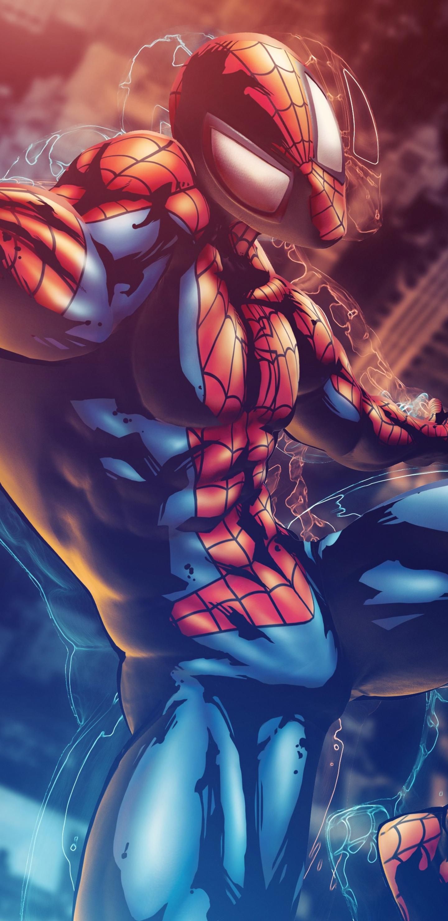 1440x2960 Marvel Vs Capcom 3 Spiderman 4k Samsung Galaxy