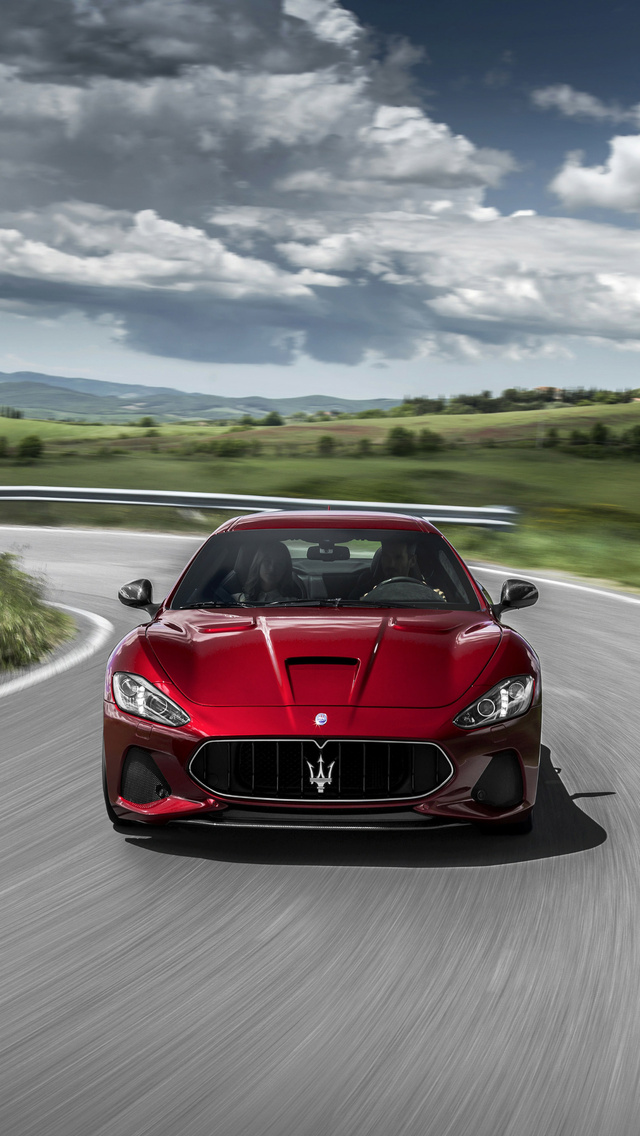 640x1136 Maserati Granturismo 2018 Iphone 5 5c 5s Se Ipod
