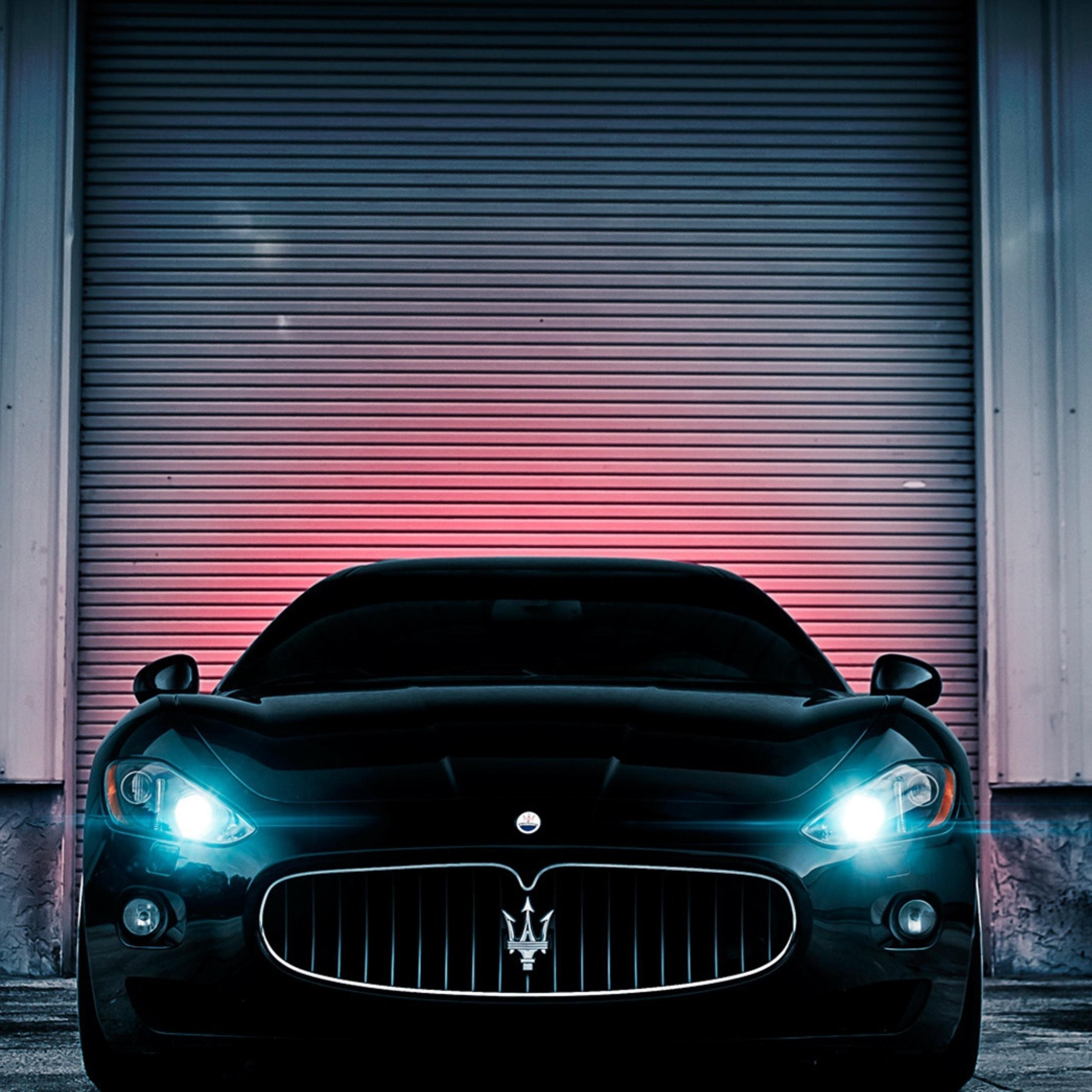 Maserati Car Wallpaper: 2932x2932 Maserati Lights Ipad Pro Retina Display HD 4k