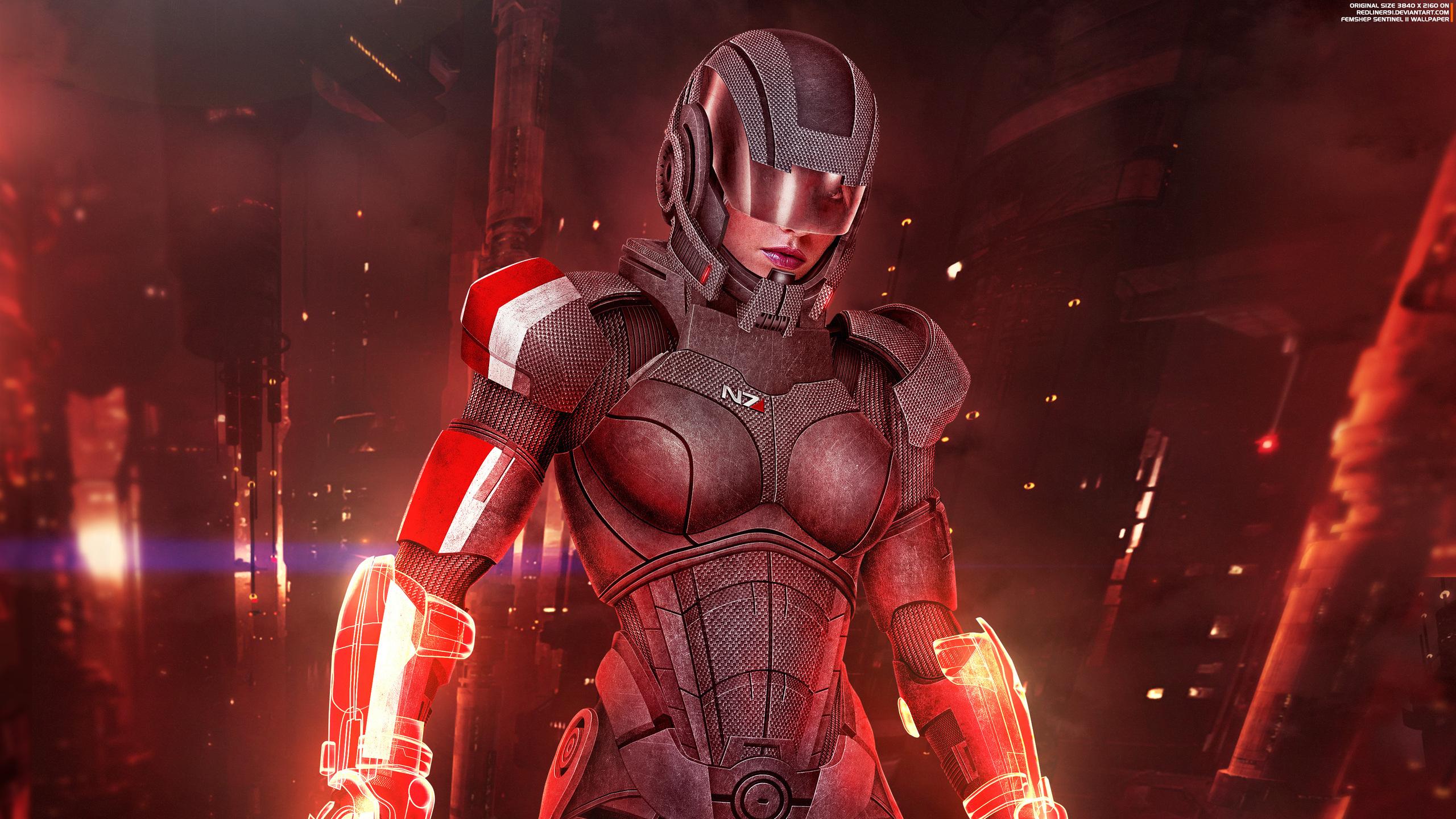 2560x1440 Mass Effect 3 Shepard Femshep 1440p Resolution Hd 4k