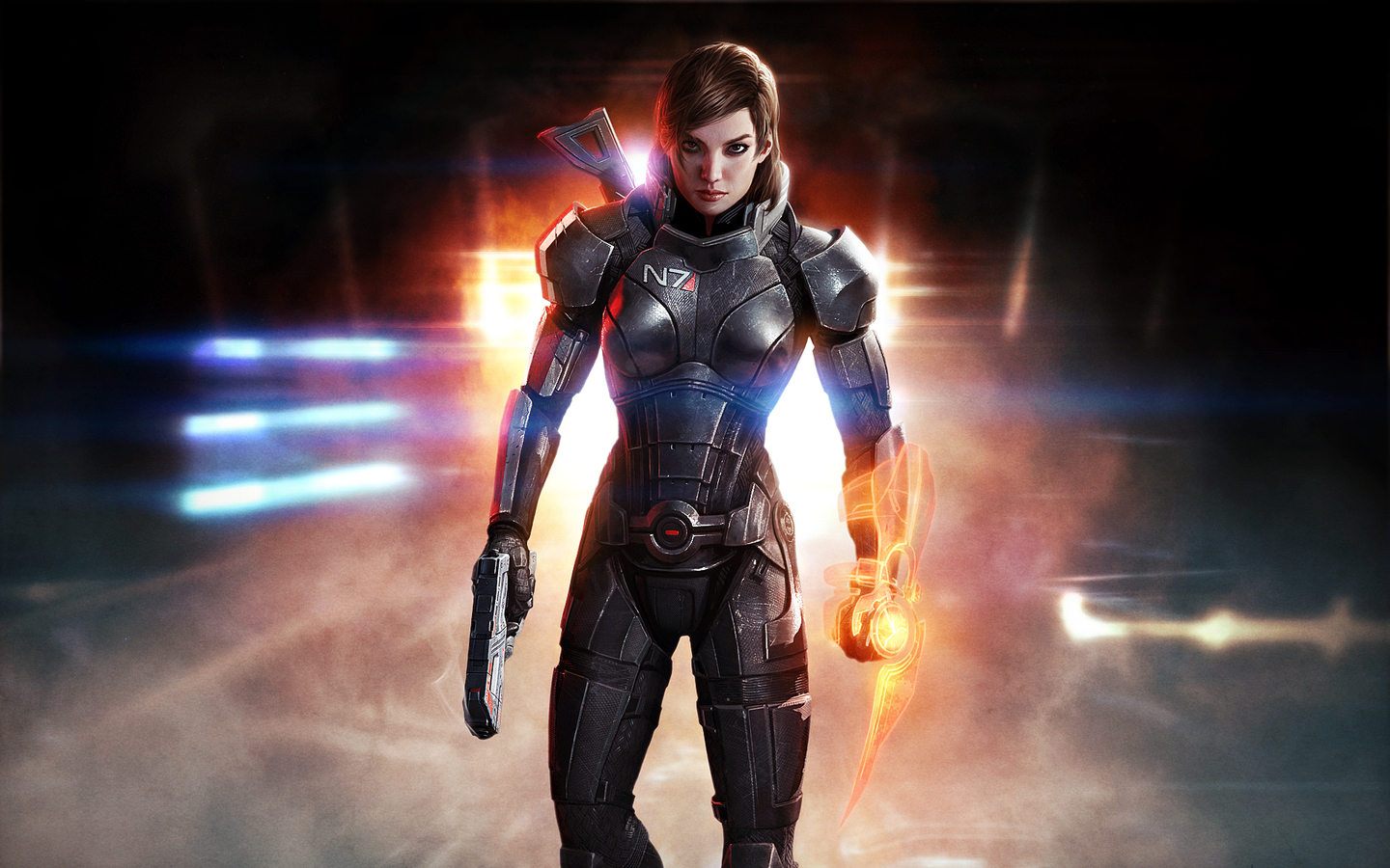 1440x900 Mass Effect 3 Shepard Femshep Hd 1440x900 Resolution Hd