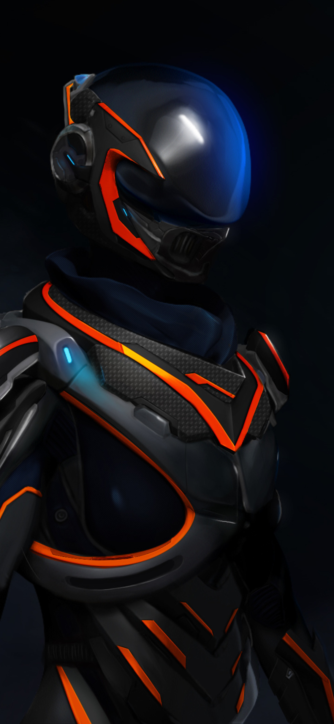 1125x2436 Mass Effect Andromeda 3d Art Iphone XS Iphone 10