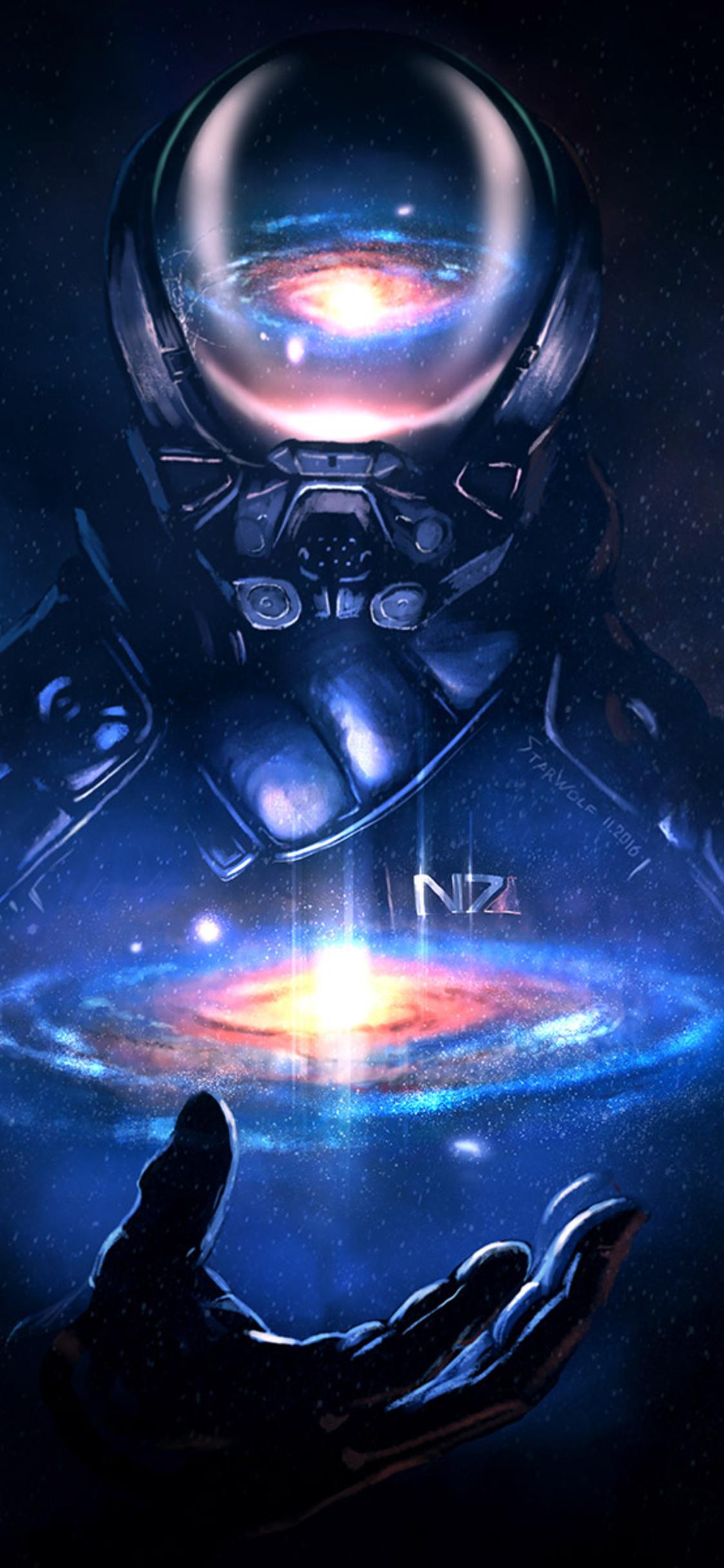 1125x2436 Mass Effect Andromeda Artwork Iphone Xs Iphone 10