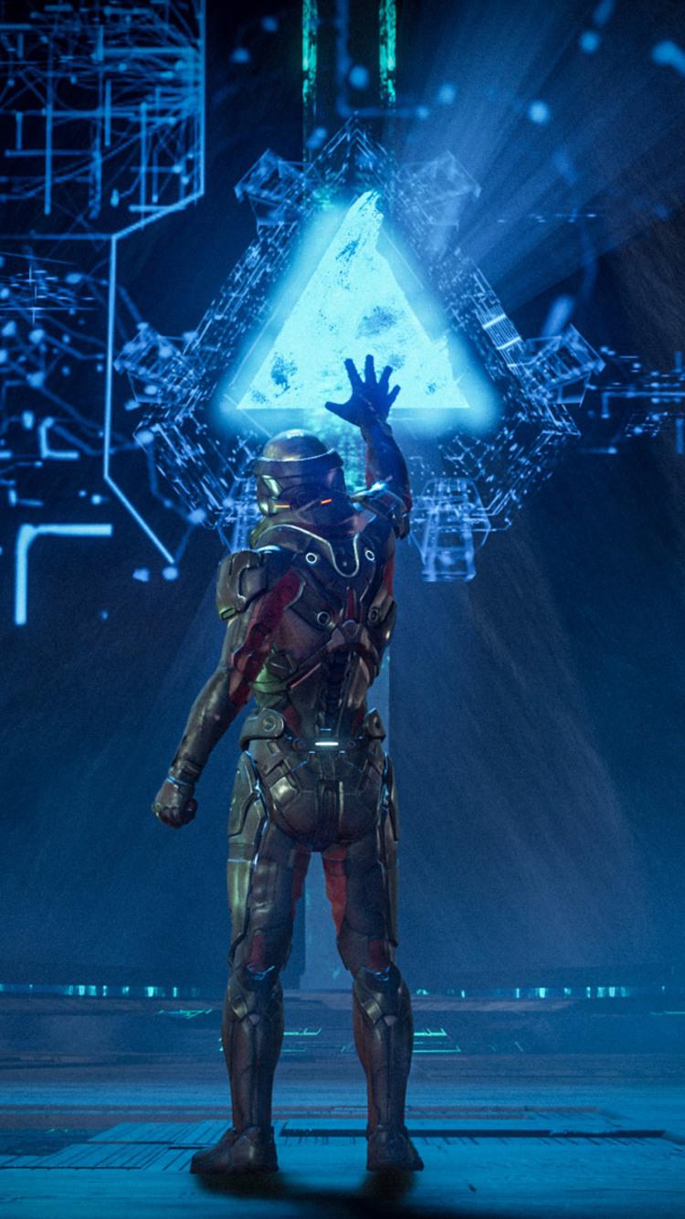 Mass Effect Andromeda Iphone 7 Wallpaper