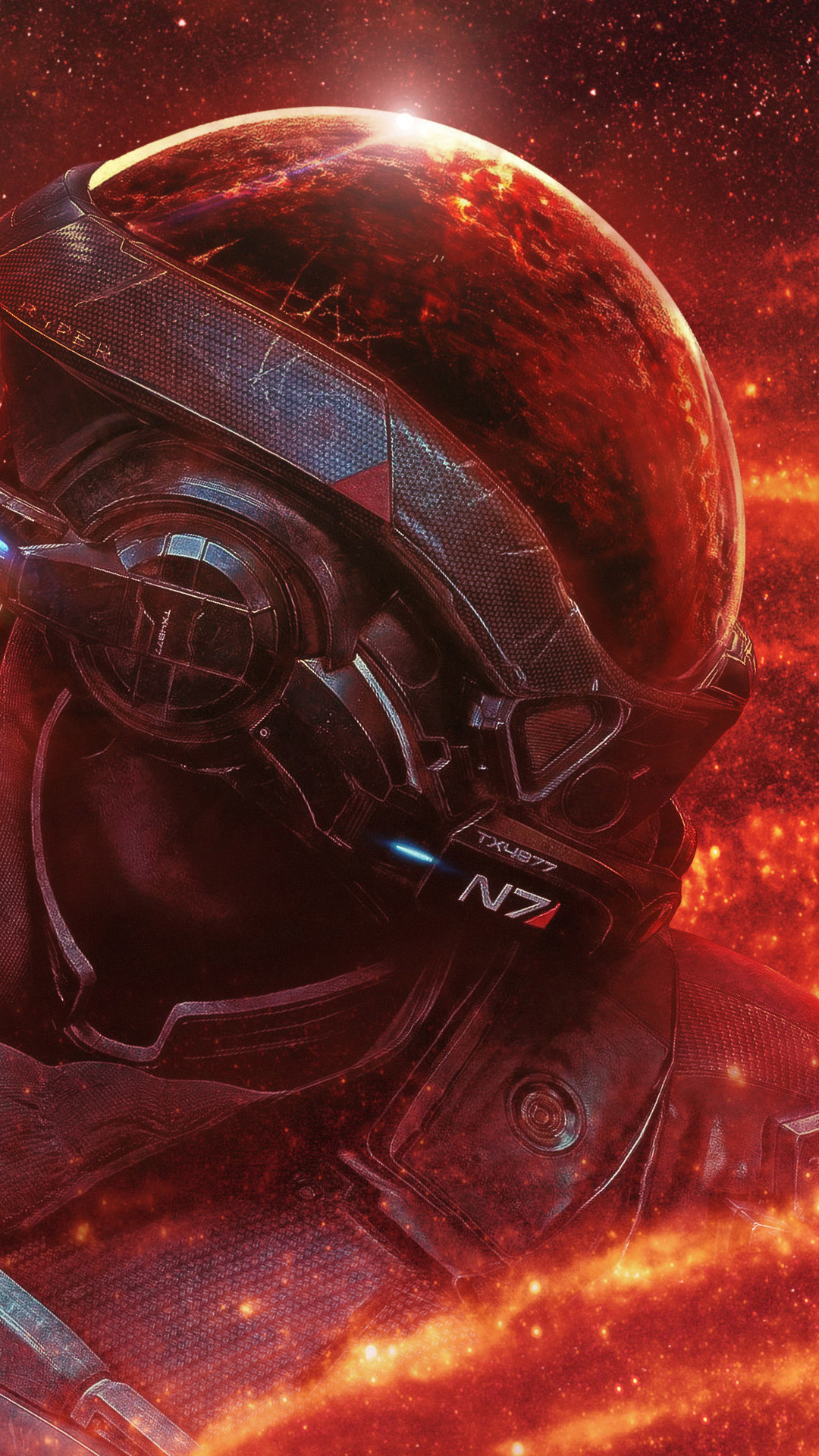1080x1920 Mass Effect Andromeda RYDER N7 4k Iphone 7,6s,6 ...