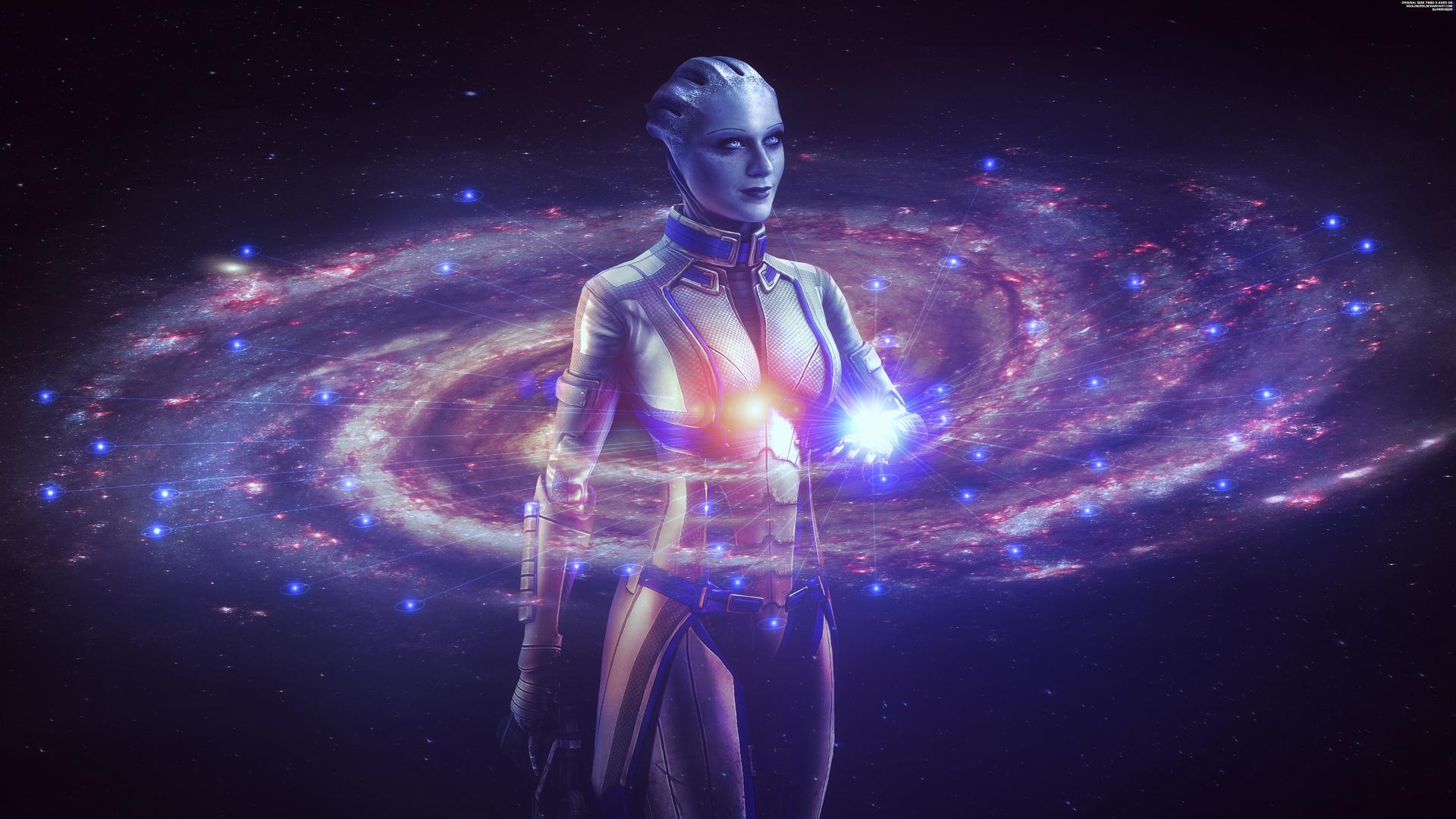 1920x1080 Mass Effect Liara 8k Laptop Full HD 1080P HD 4k ...