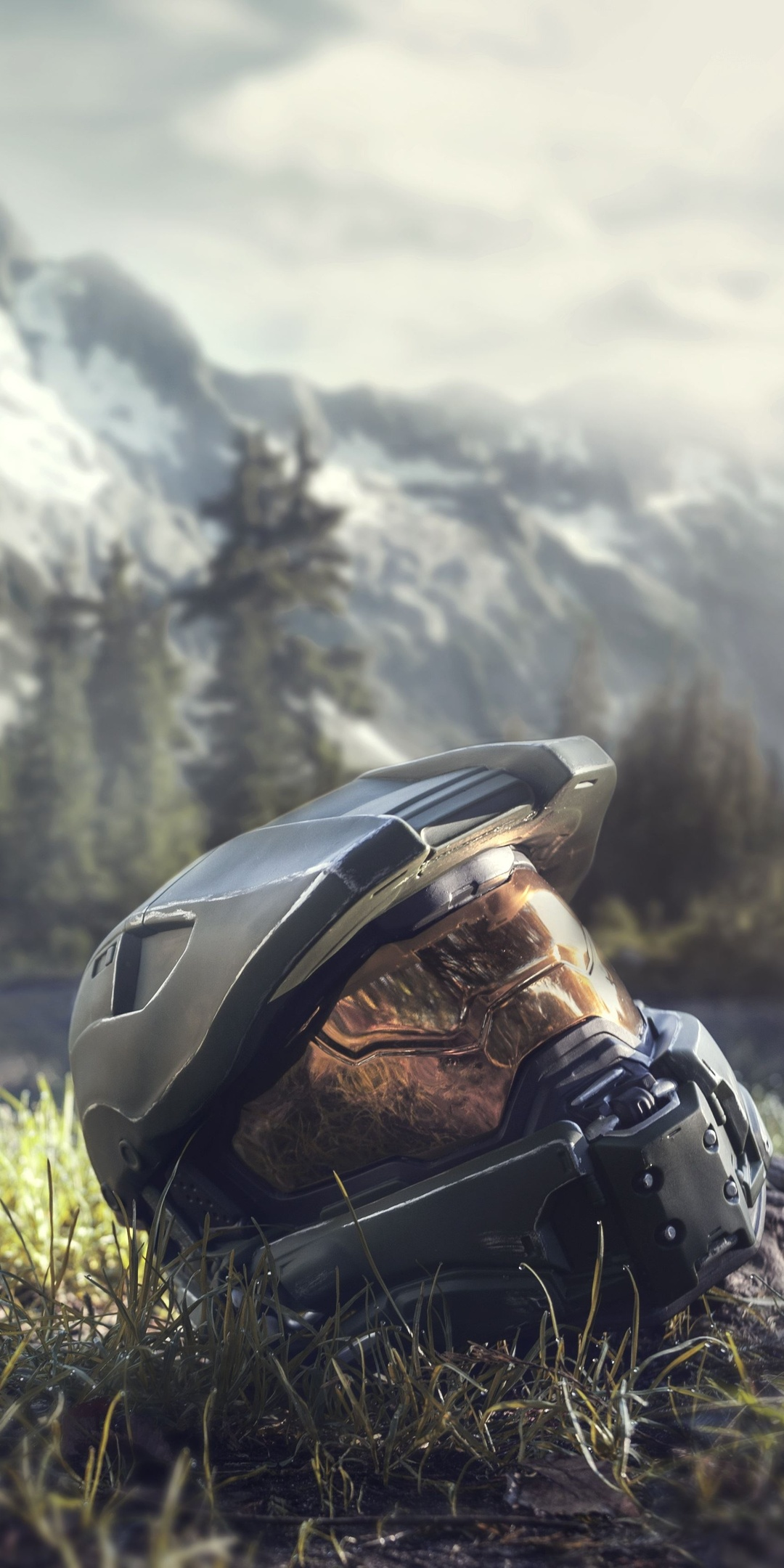 1080x2160 Master Chief Halo 4 Helmet One Plus 5t Honor 7x Honor