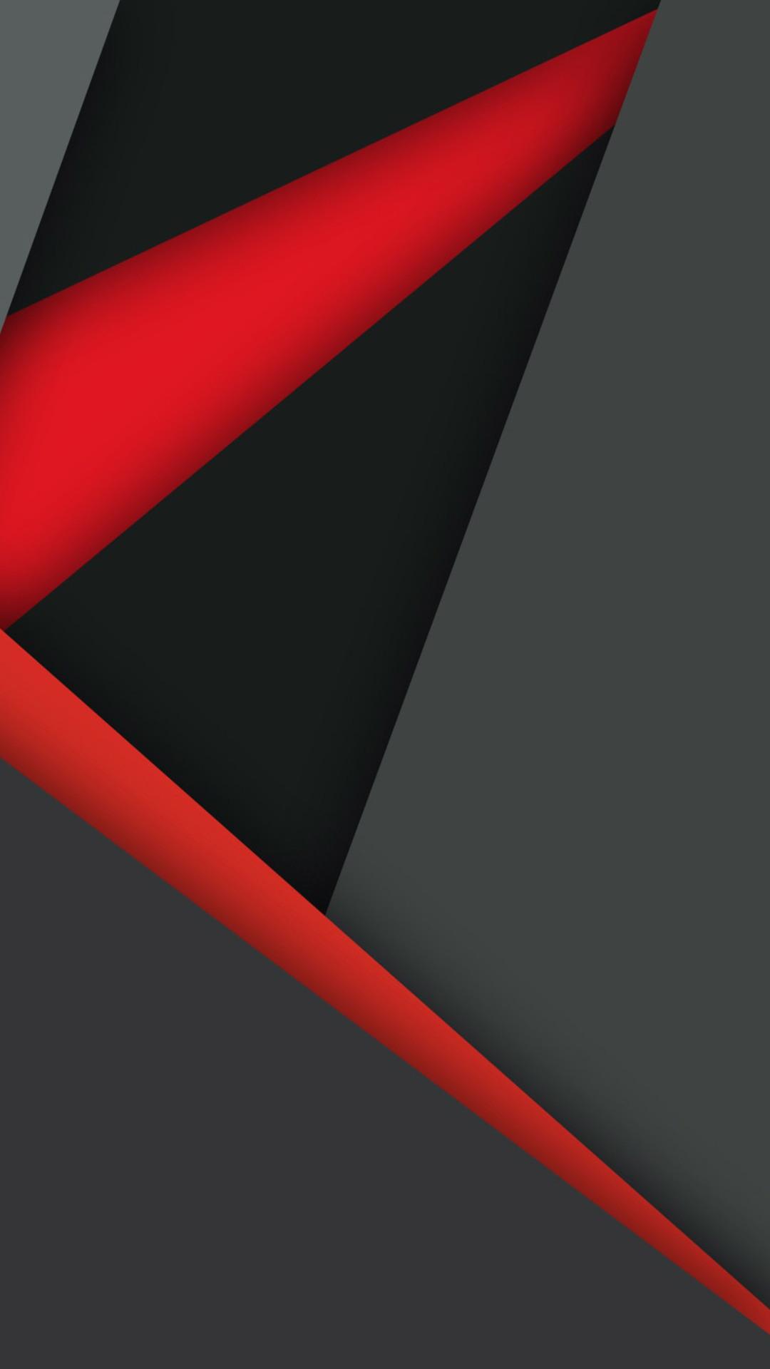 1080x1920 Material Design Dark Red Black Iphone 7,6s,6 ...