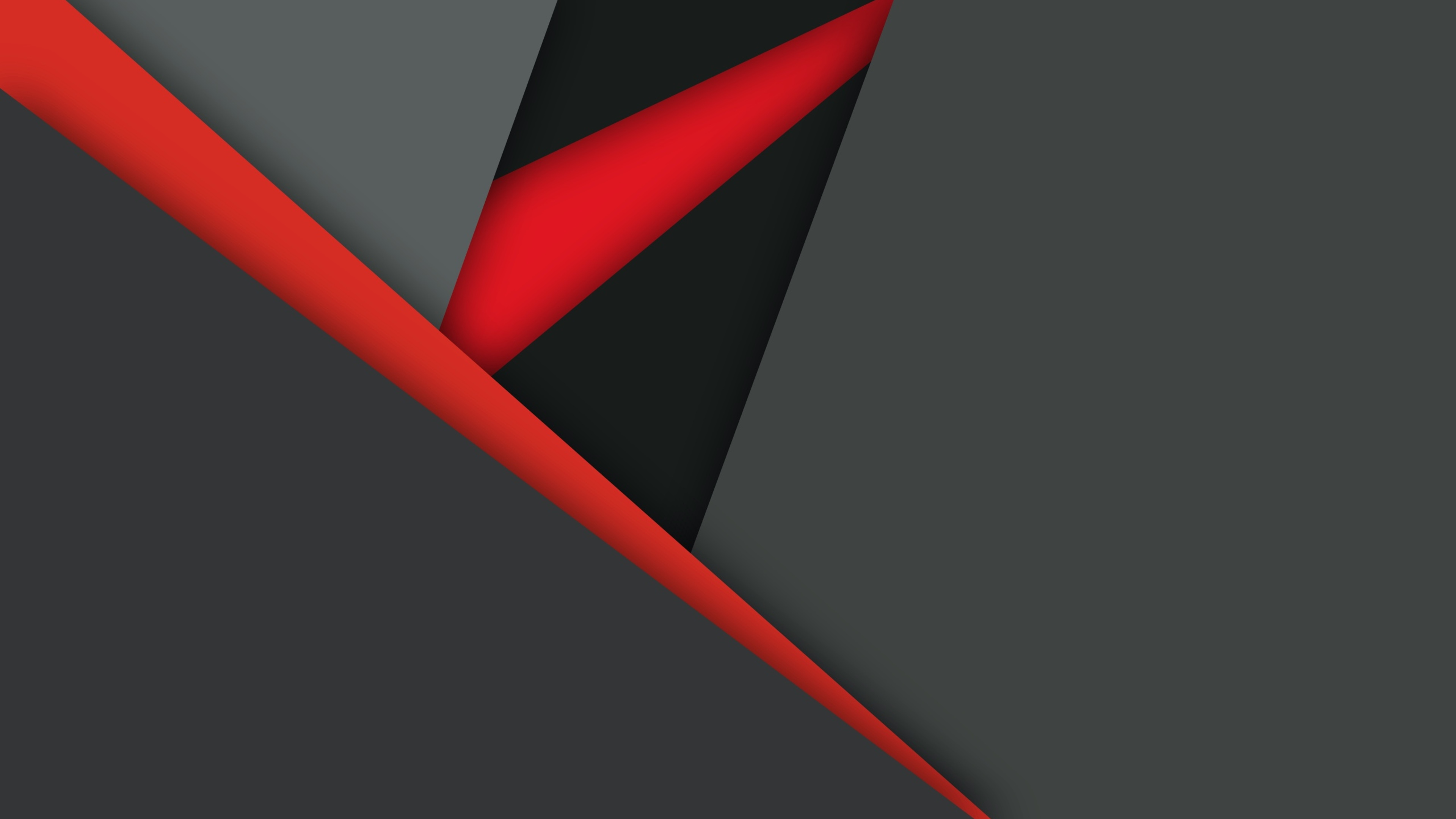 3840x2160 material design dark red black 4k hd 4k for Material design wallpaper 4k