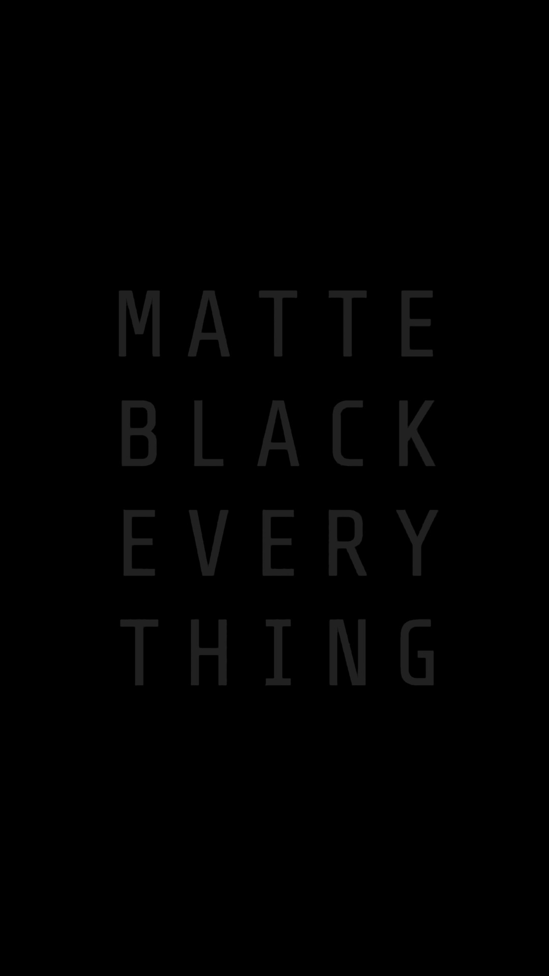 1080x1920 Matte Black Everything Mkbhd Iphone 7 6s 6 Plus