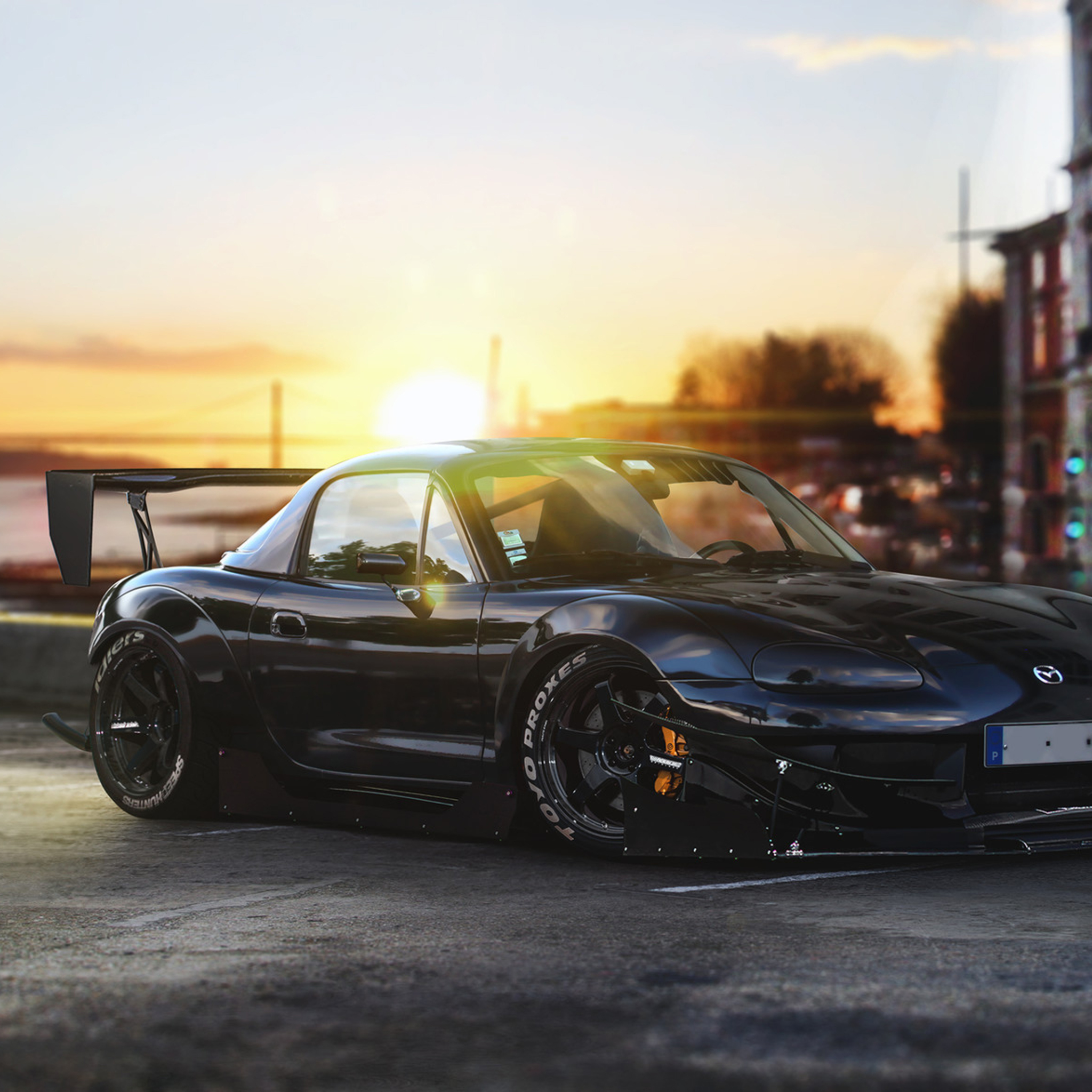 Mazda Mx5 4k