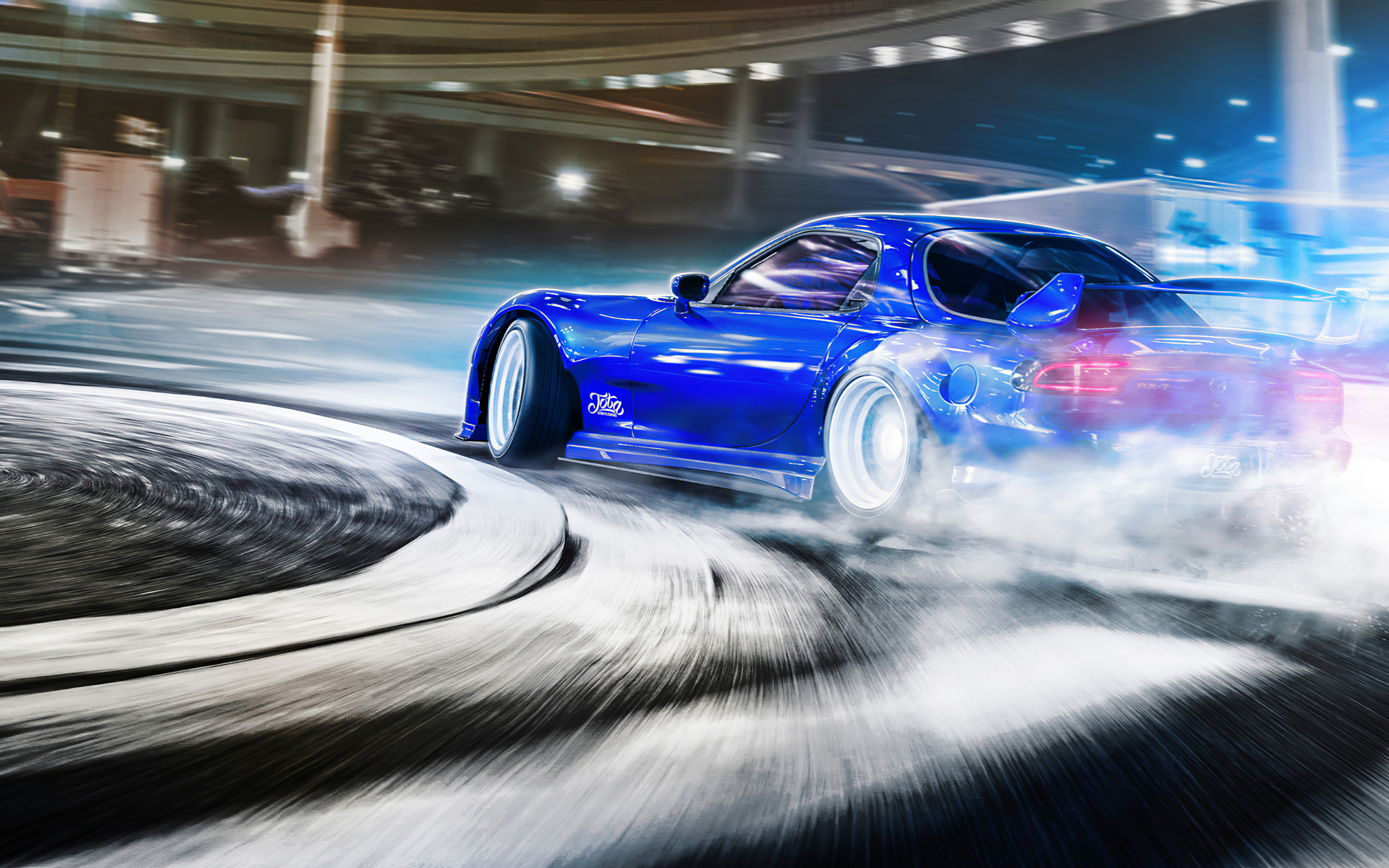 3840x2400 Mazda Rx7 Drifting 4k 4k HD 4k Wallpapers ...