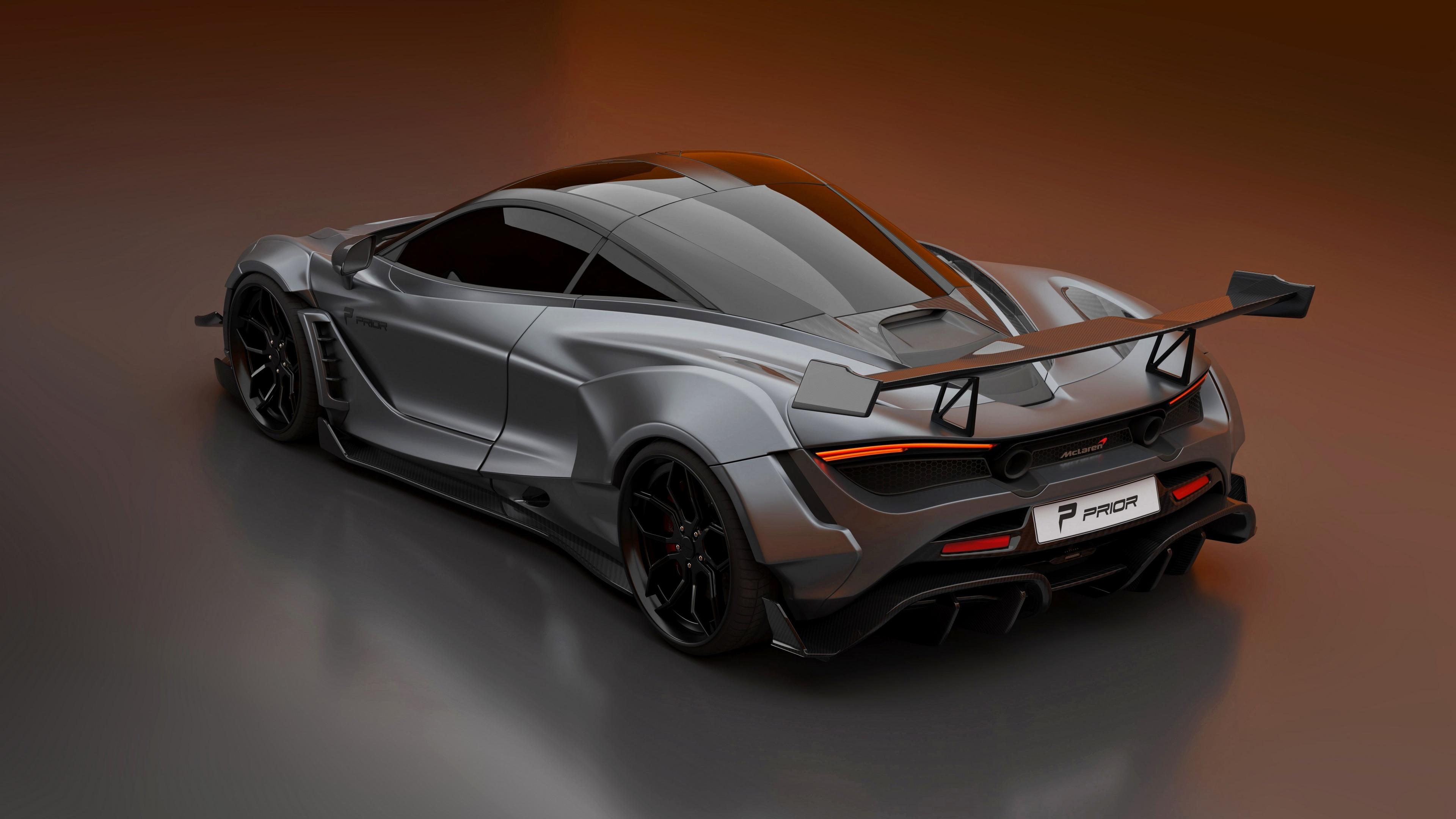 3840x2160 McLaren 2020 720S Widebody Kit 4k 4k HD 4k ...