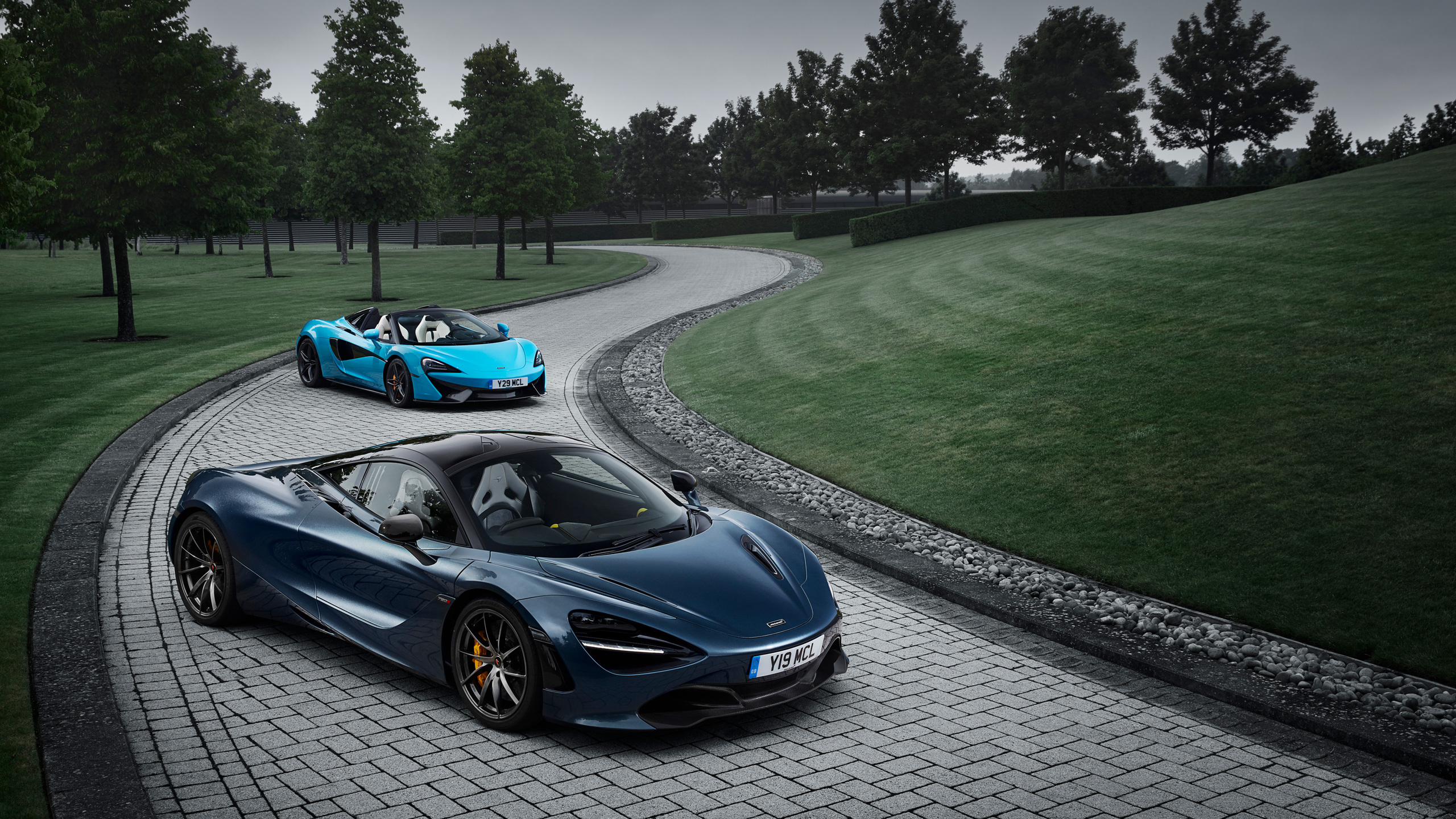 2560x1440 Mclaren 720s And Mclaren 570s Spider 1440p Resolution Hd 4k Wallpapers Images Backgrounds Photos And Pictures